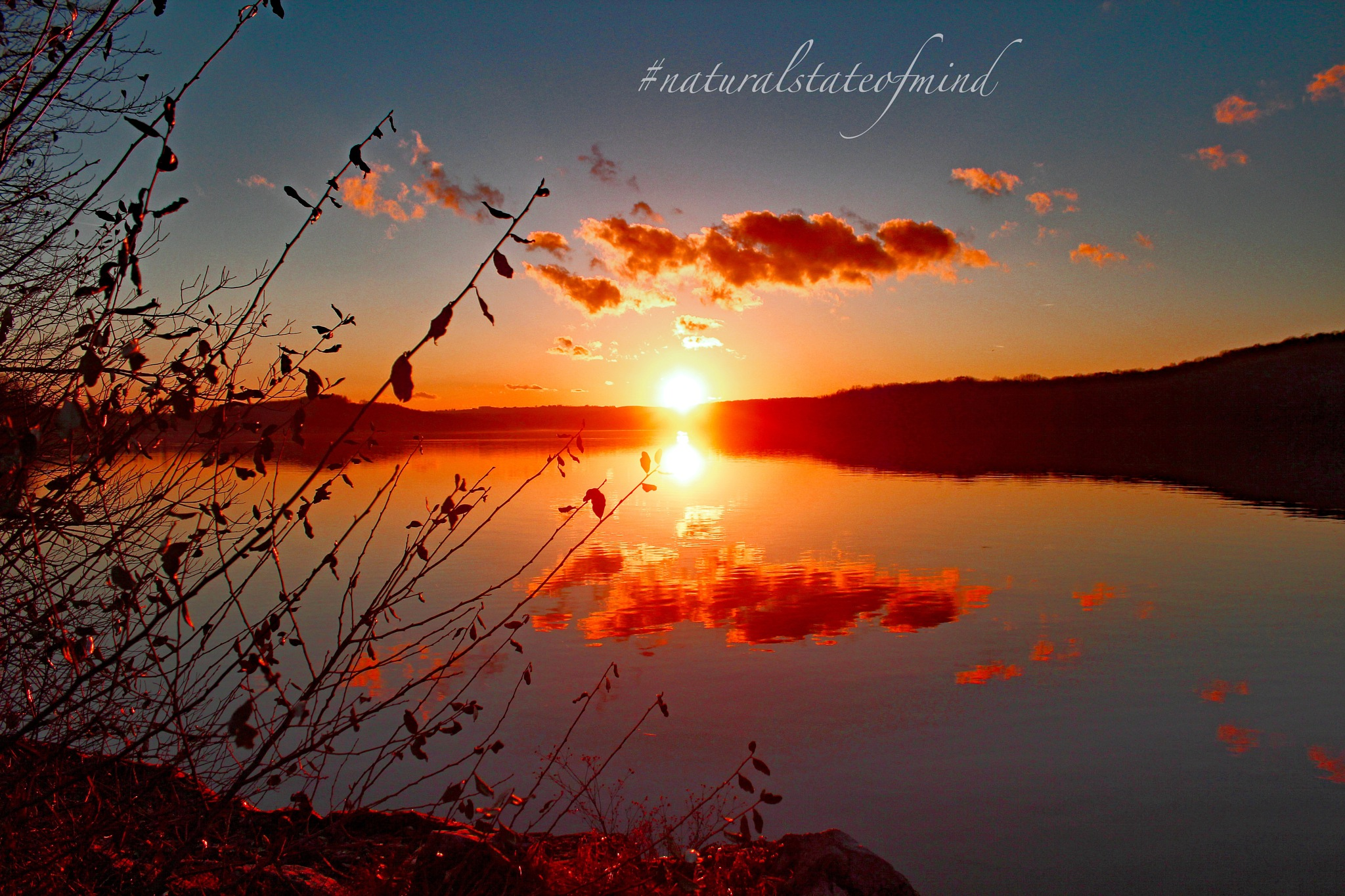 Sundown ~ November Reflections by Natural State of Mind