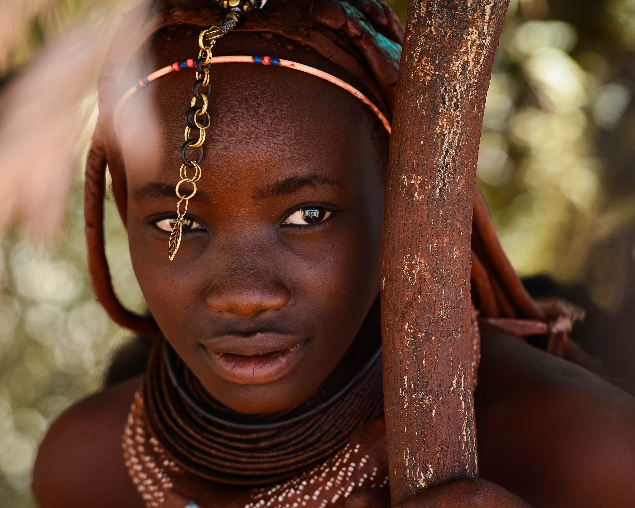 Himba girl by nickbrisbane