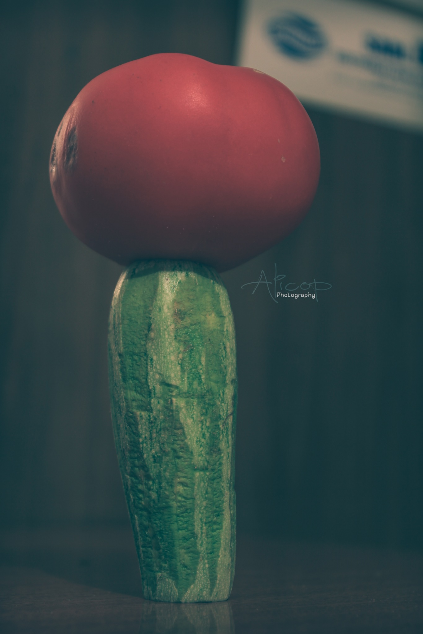 tomato tower by Fares Hamouche
