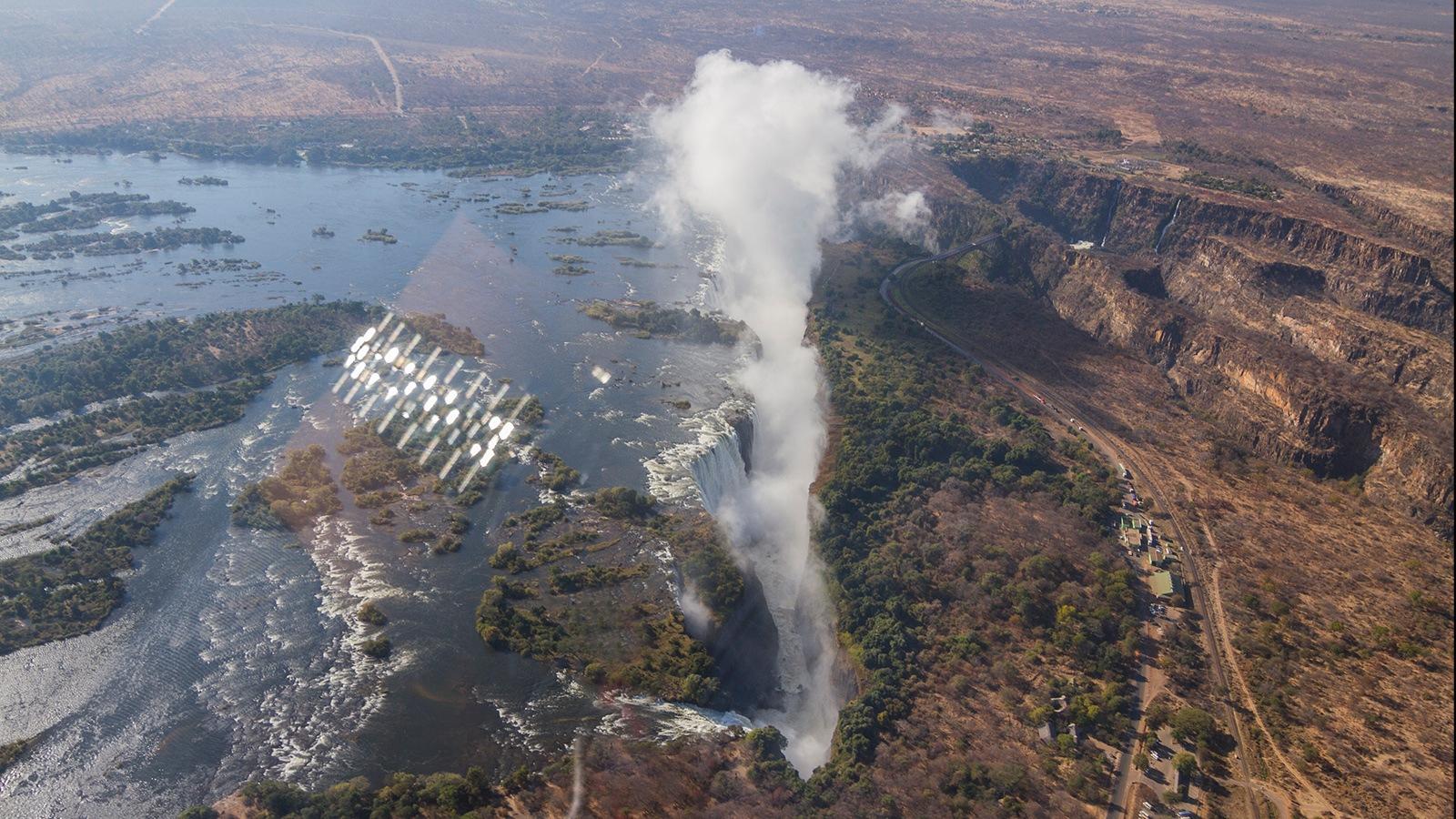 Victoria Falls by Hussain Nalwala