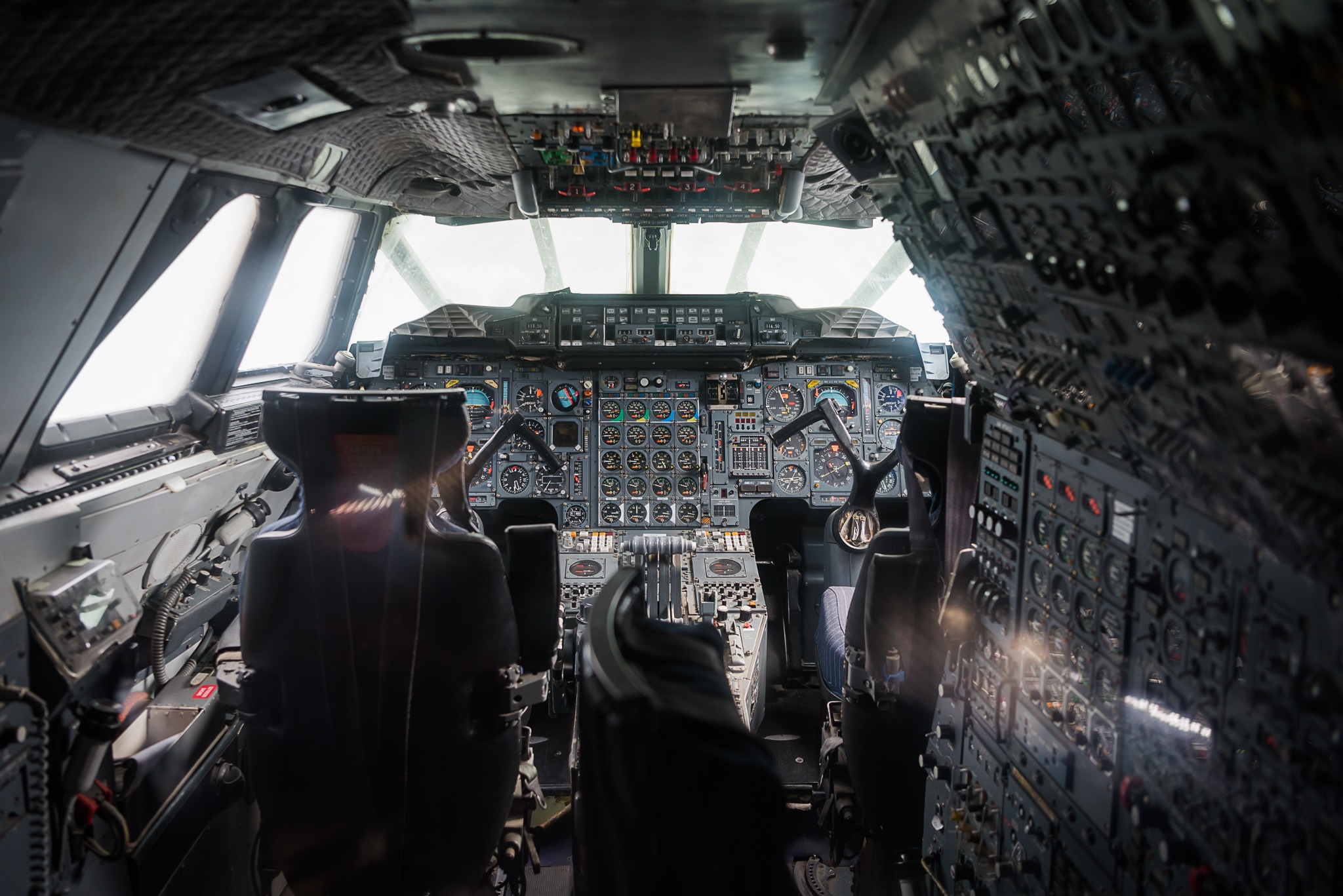 The Cockpit of Concorde  by Safta Ciprian