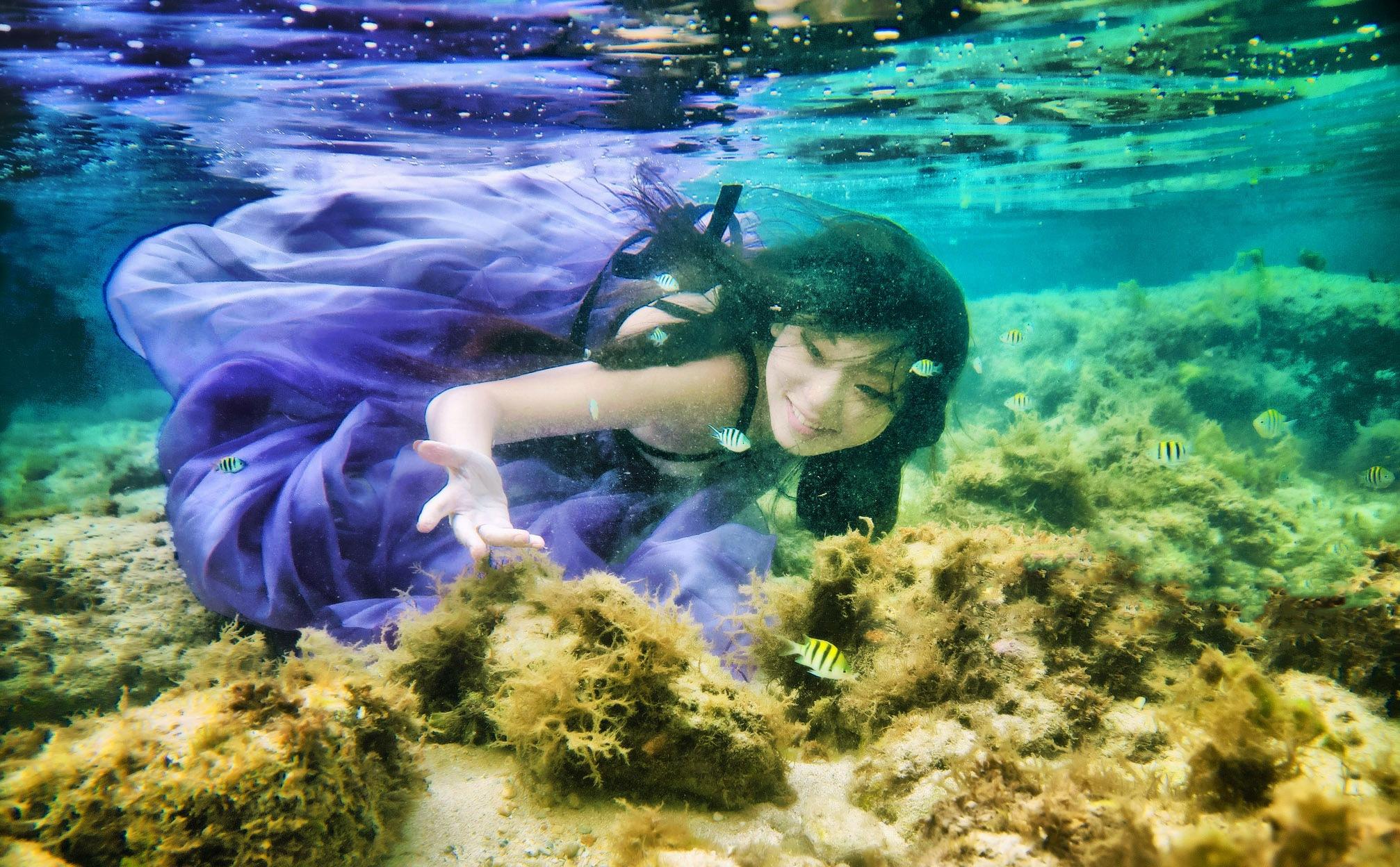 underwater photography by Wen Chen