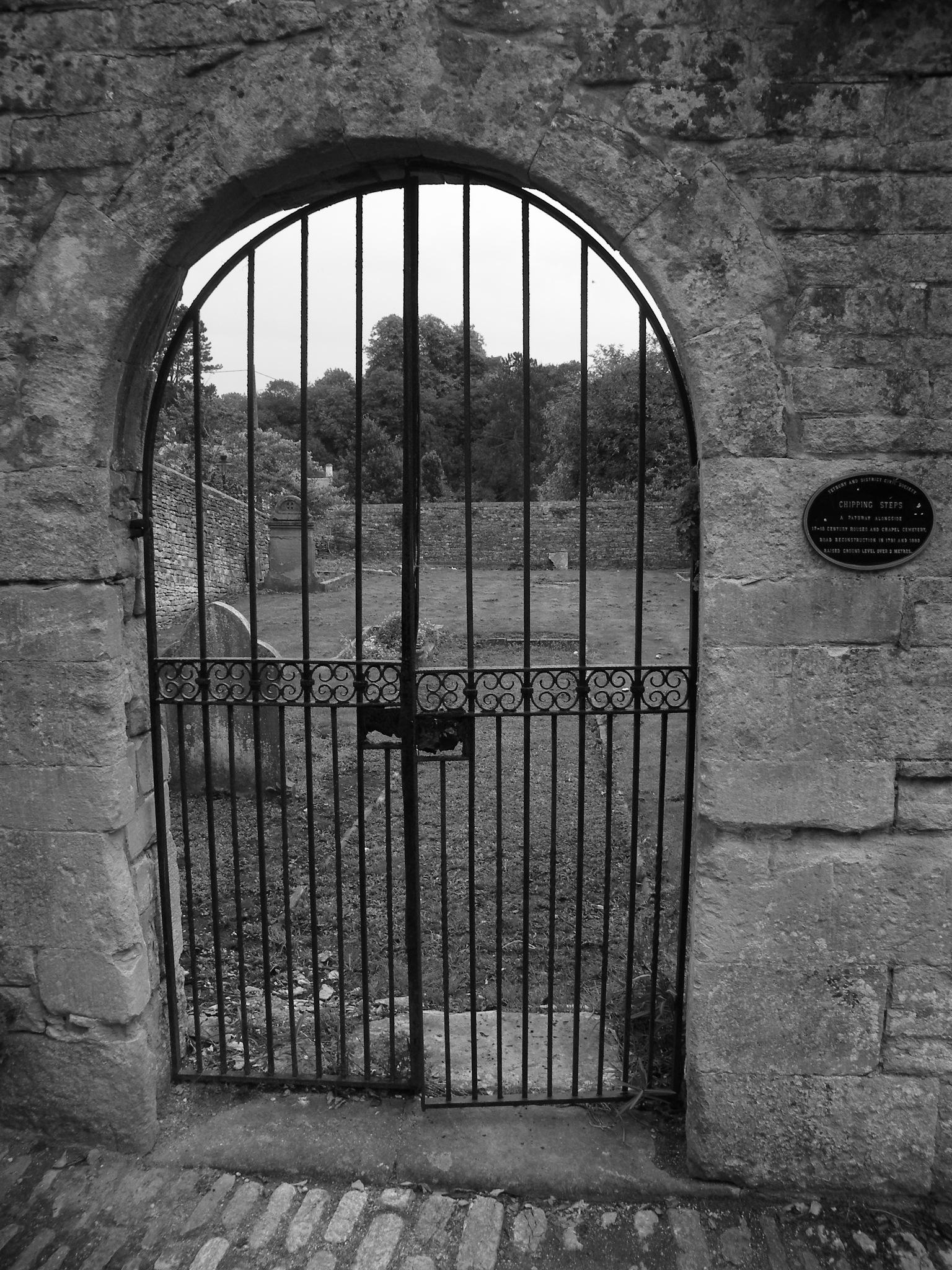 gates of heaven by Chris Algar