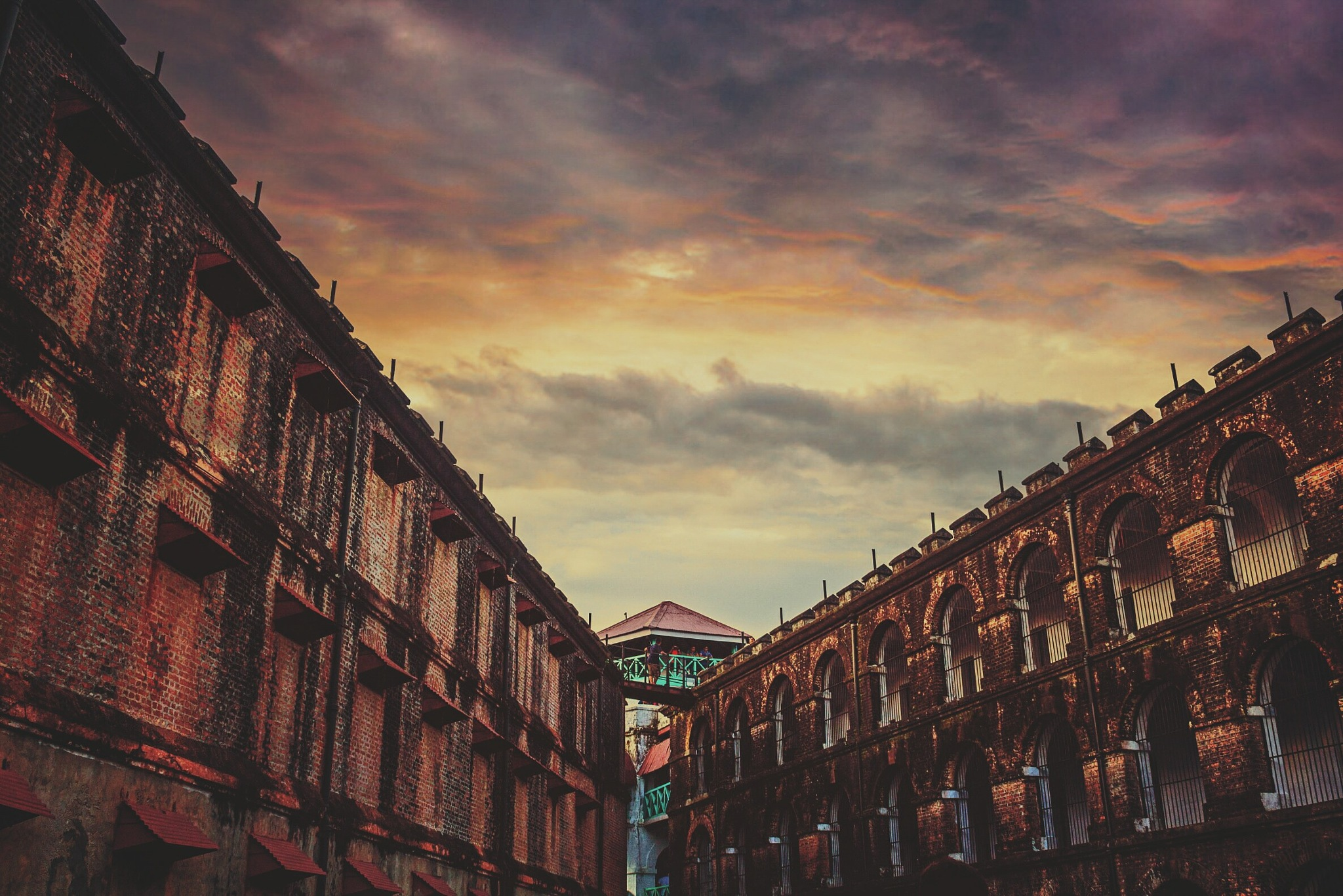 cellular jail by Diptangshu Chaki