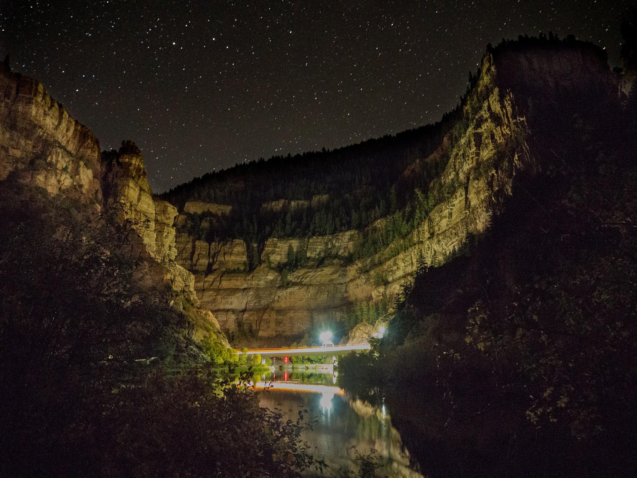 Canyon Lights by mrife