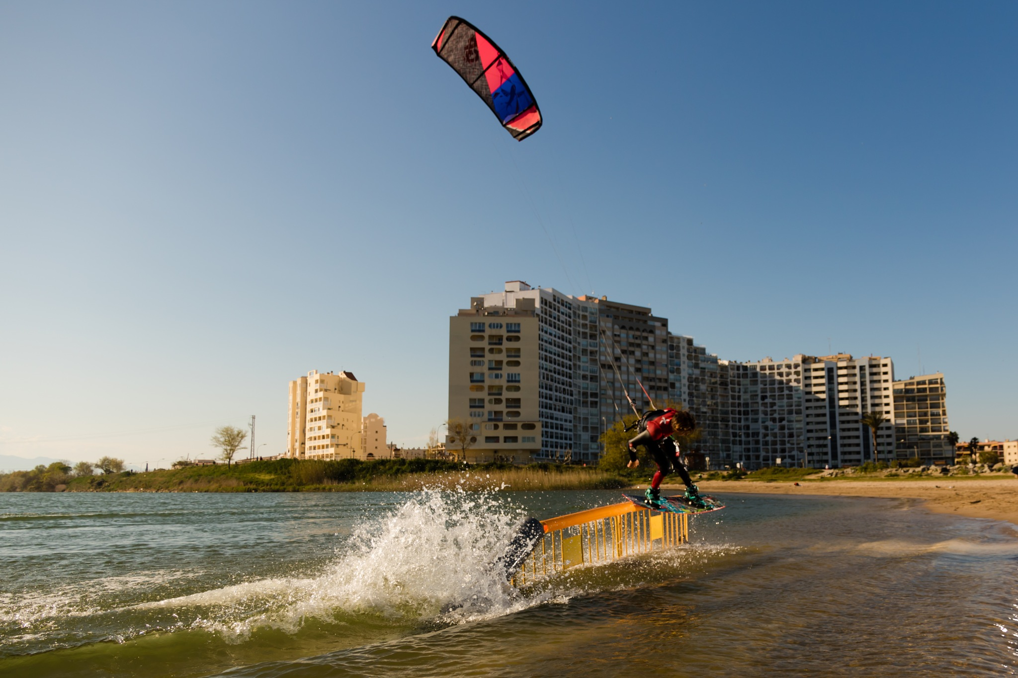 slider kitesurf spain by reinoutsmit