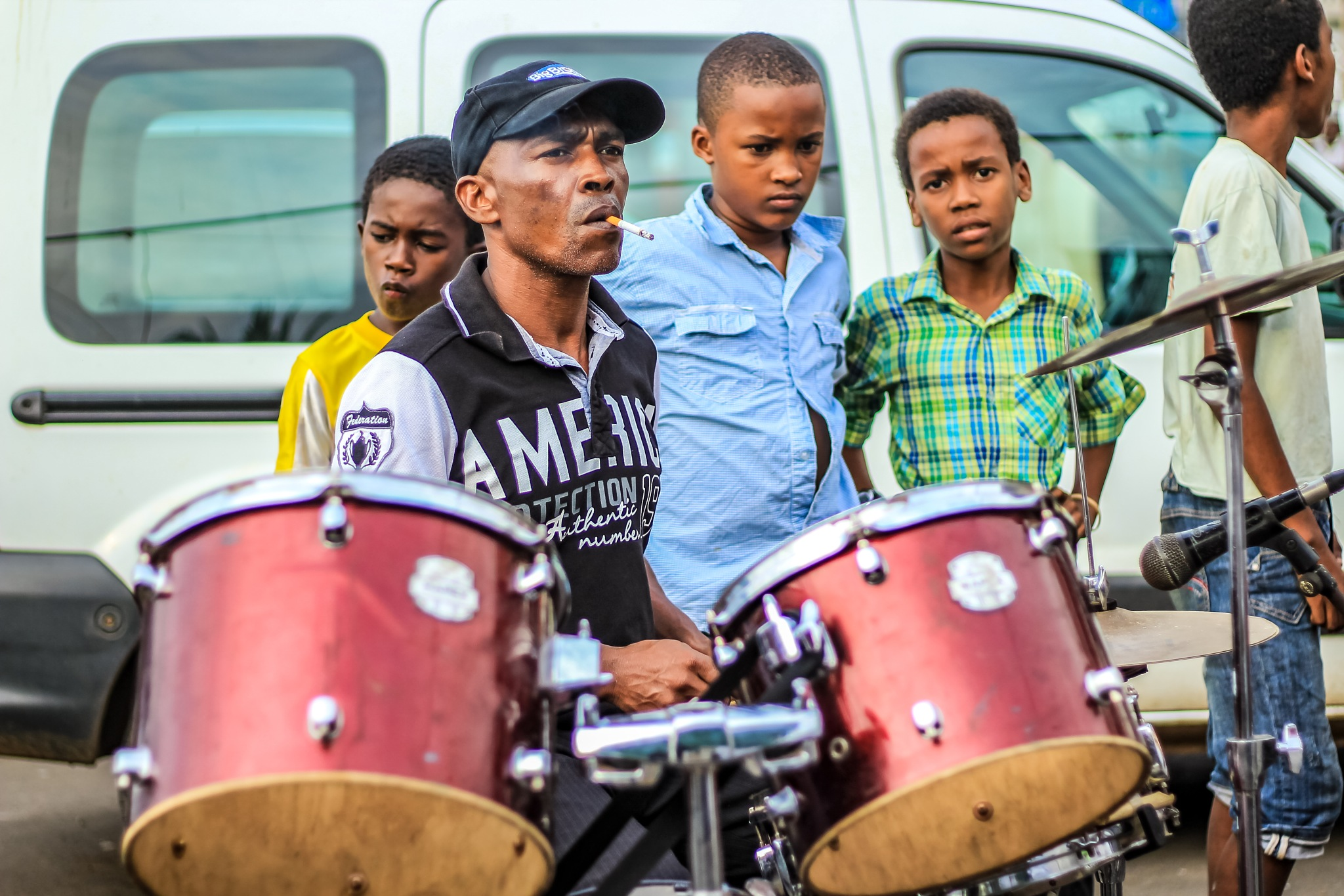 le batteur de Tama Music Mayotte by Abdol976