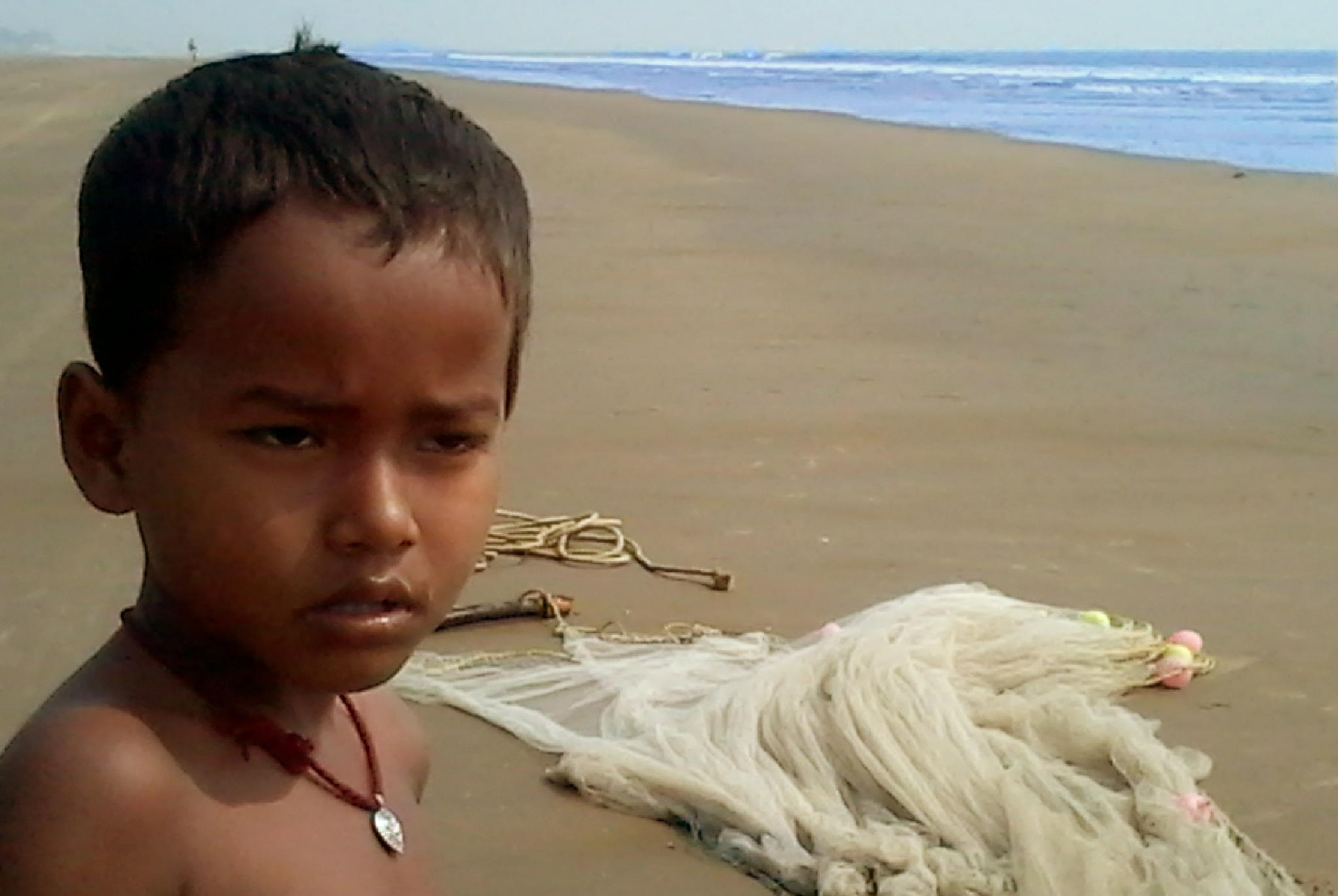 Fisher boy by Abhijit De