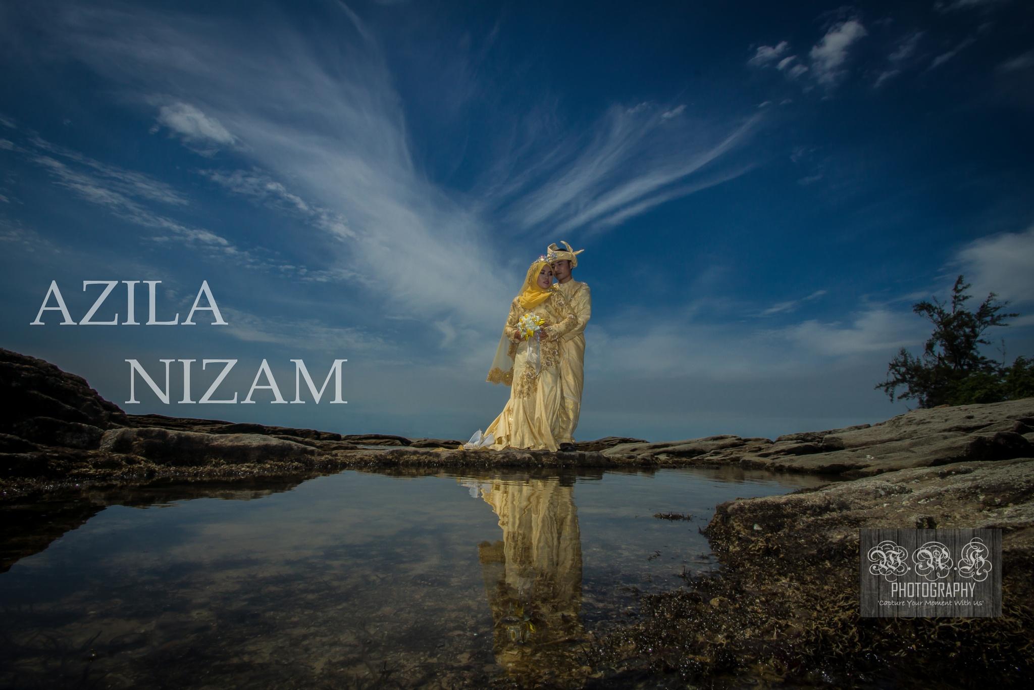Azila & Nizam by Aaones'anth Damian