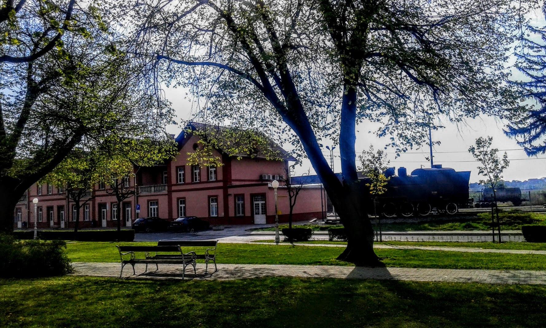 Željeznički kolodvor Bjelovar! by Mare