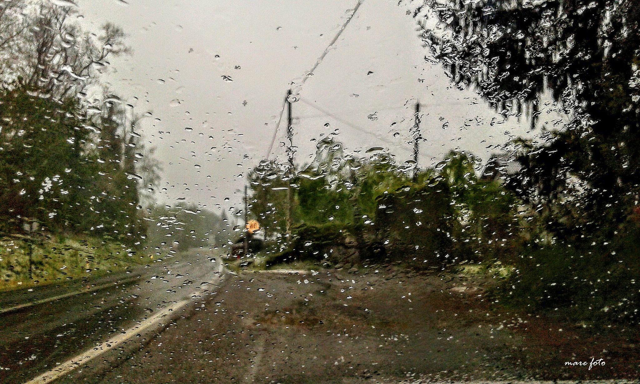 Pogled kroz kišne kapi! by Mare
