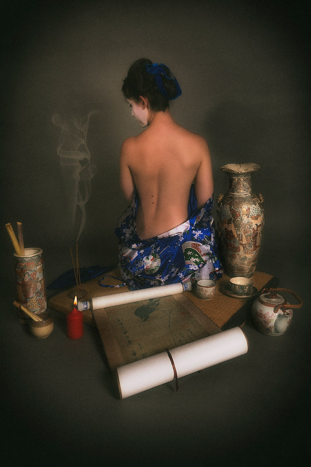 Japanese traditions by Pagniez Jean-philippe