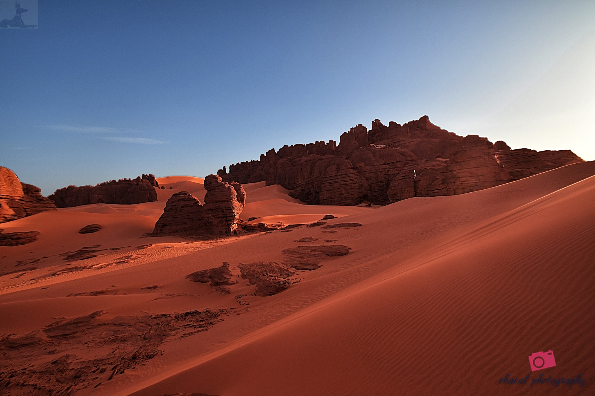 From the heart of the Sahara Algeria by chacal photography