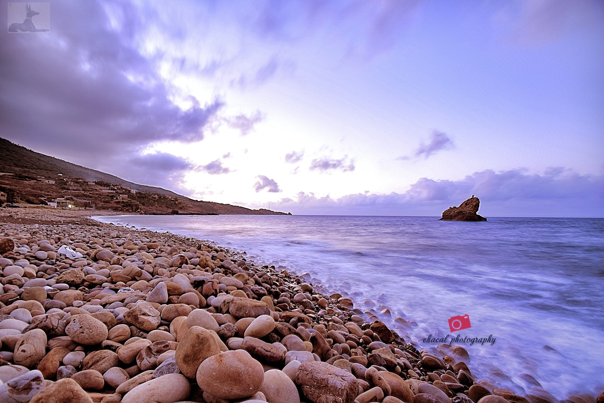 Seashore from Algeria by chacal photography