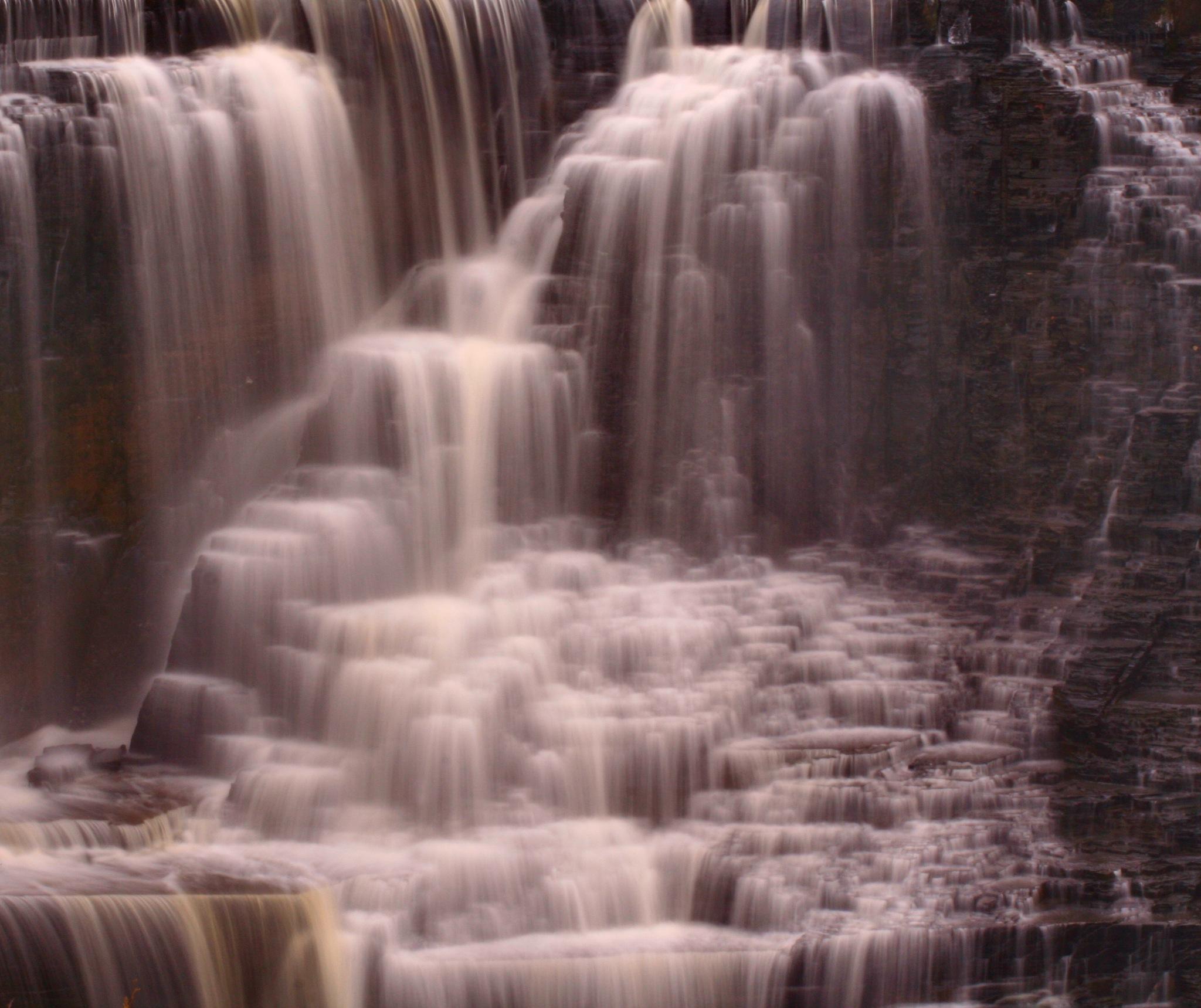 Kakabeka Falls at the beginning of Winter by Sam Cornwell