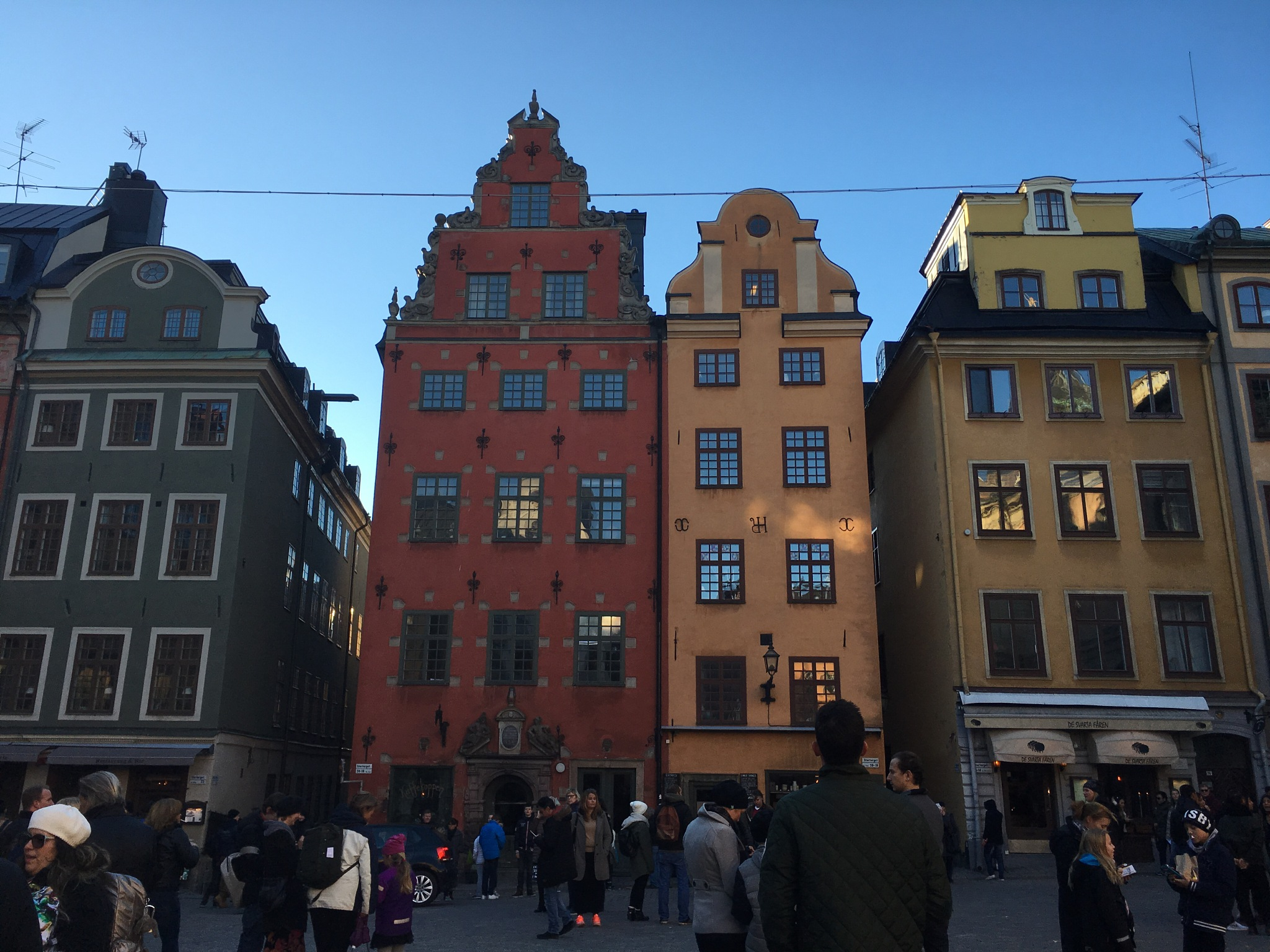 Stortorget (The big square)  by Sandra Forsed
