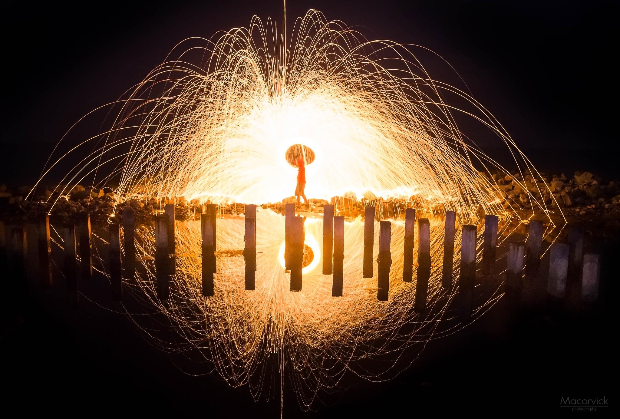 Light up my Way by Gerard Macorvick