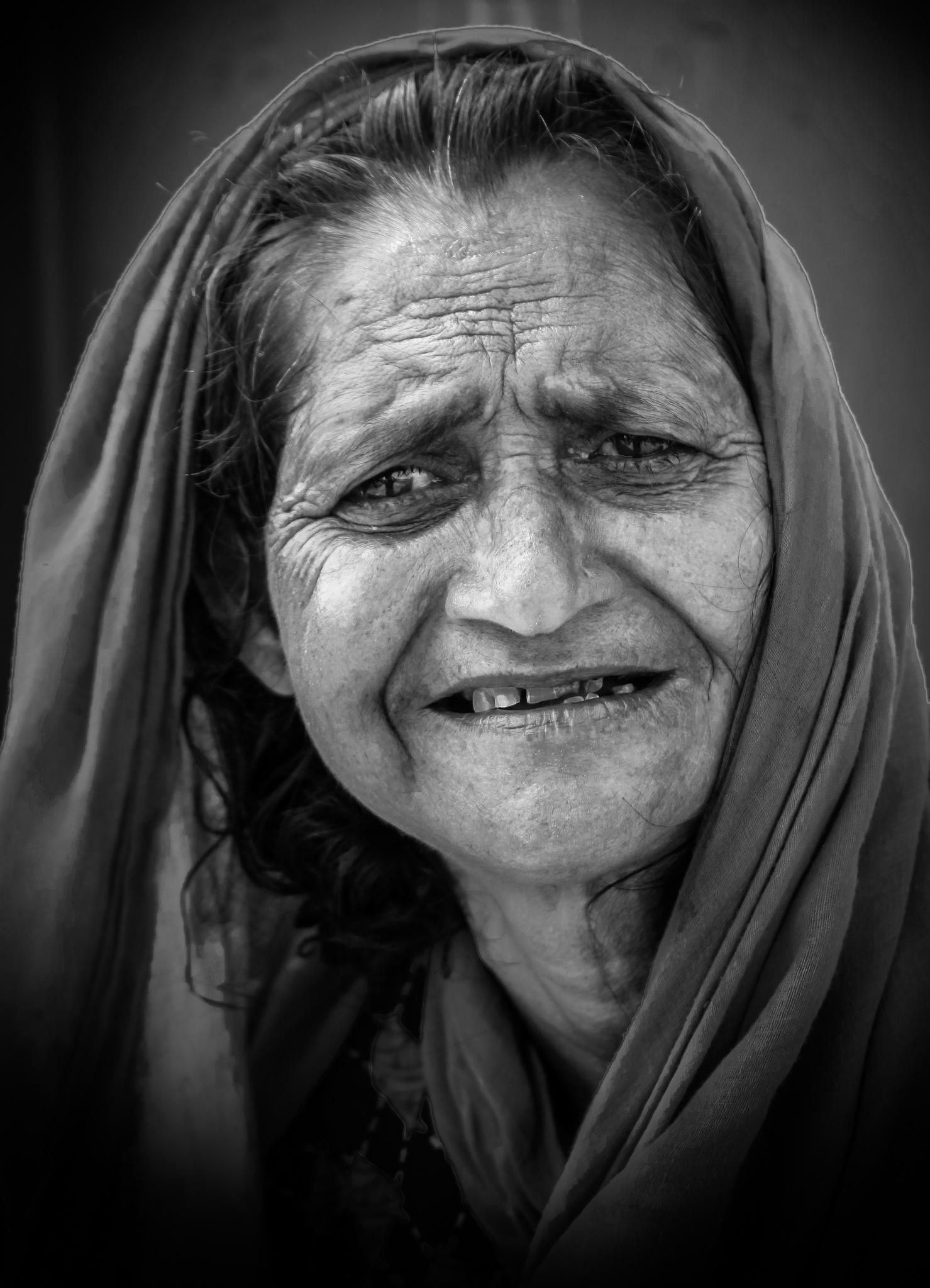smile.  by Ferdous Hafiza