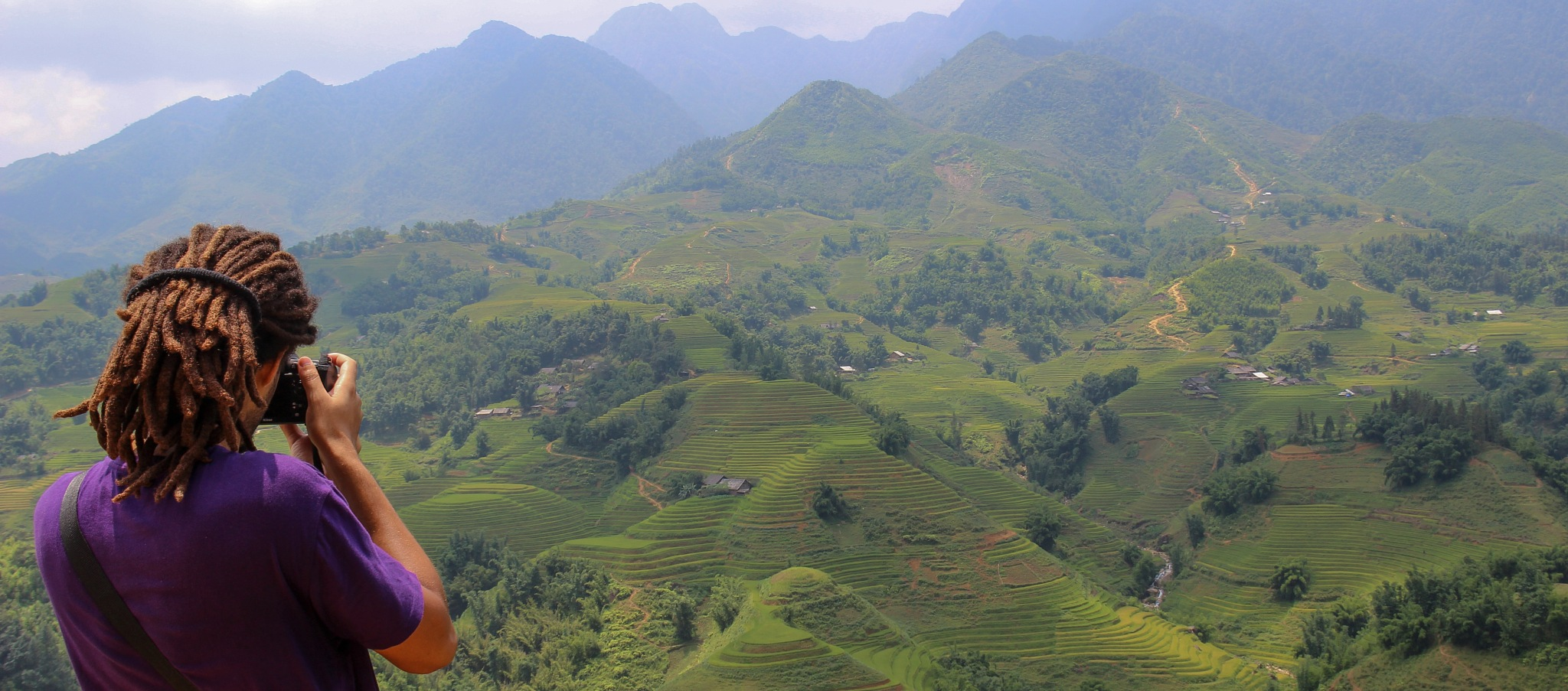 Photographing in Sapa by Or Carmel