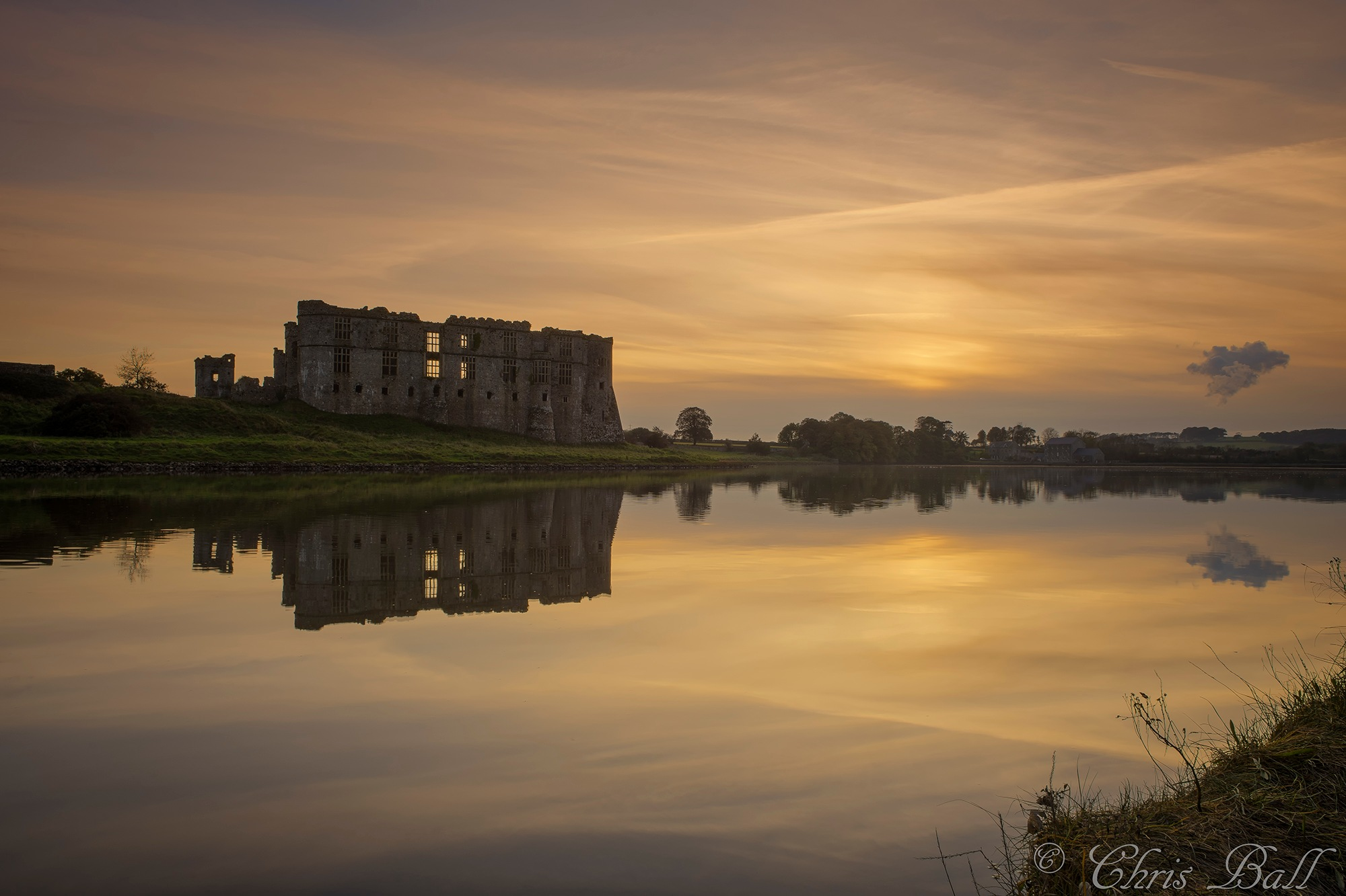 Carew Castle by Chris_Ball_Photography