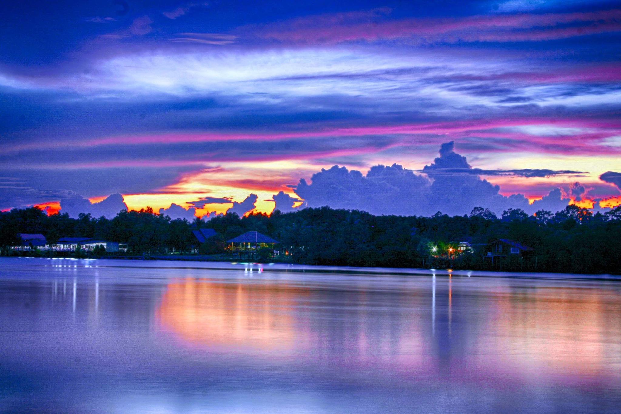 Evening in Thailand by Rungsak Rintharasri