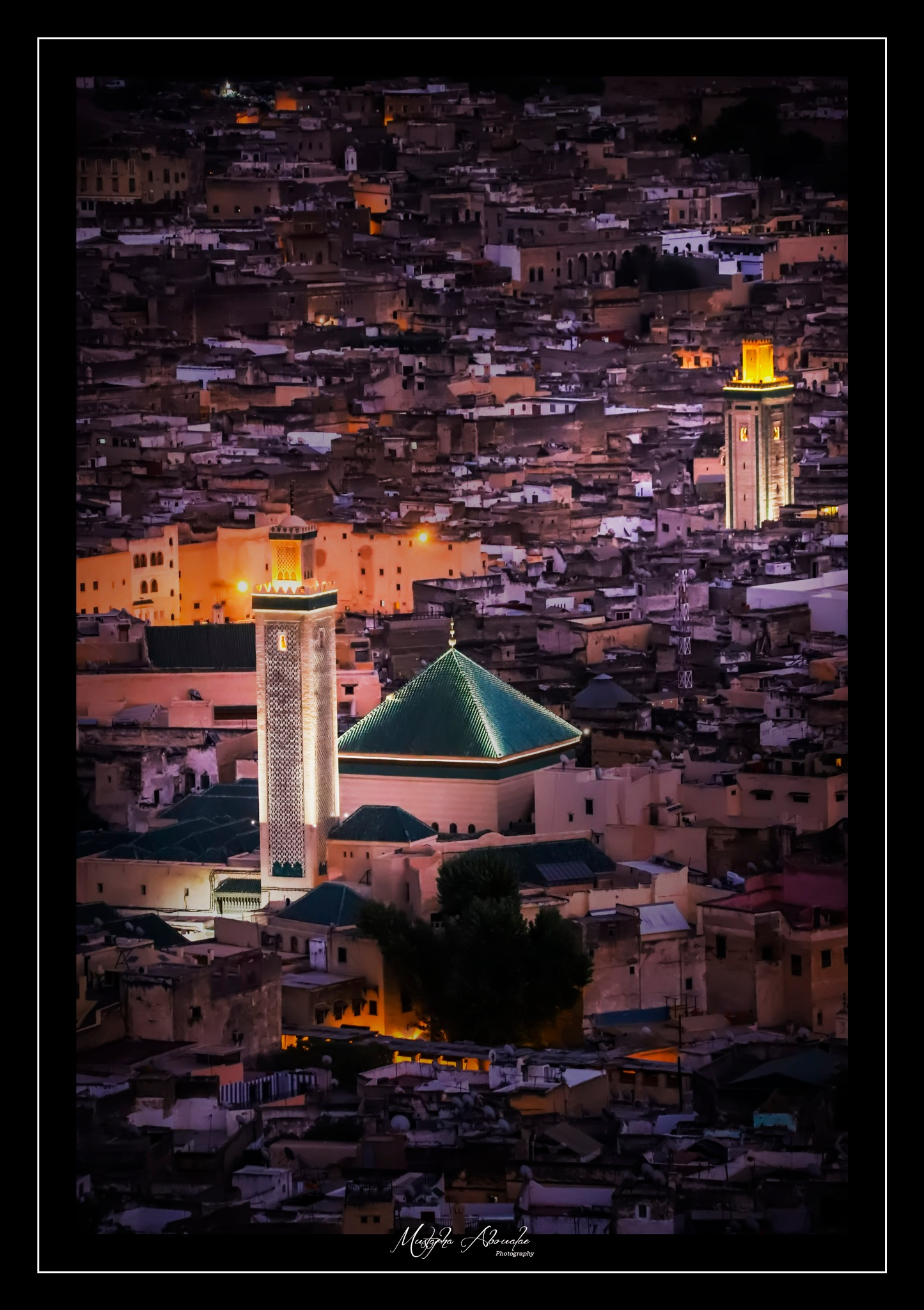 The old city of Fès. Morocco by Aboualae Mustapha
