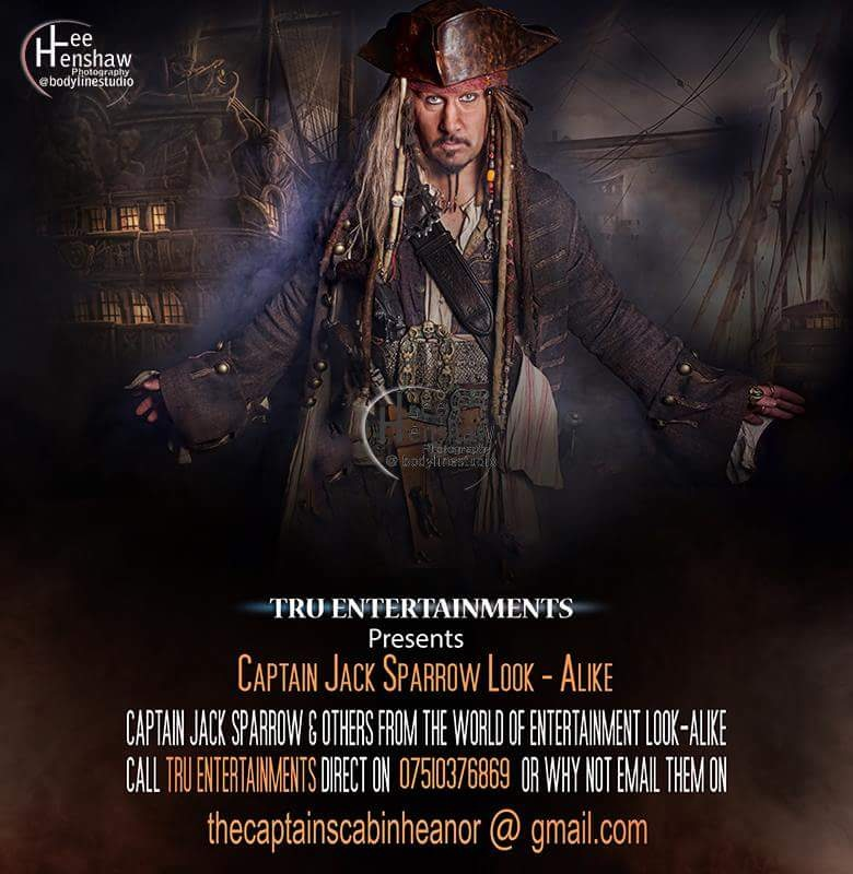 Captain Jack Sparrow Look-alike  by Wayne Mark Truman