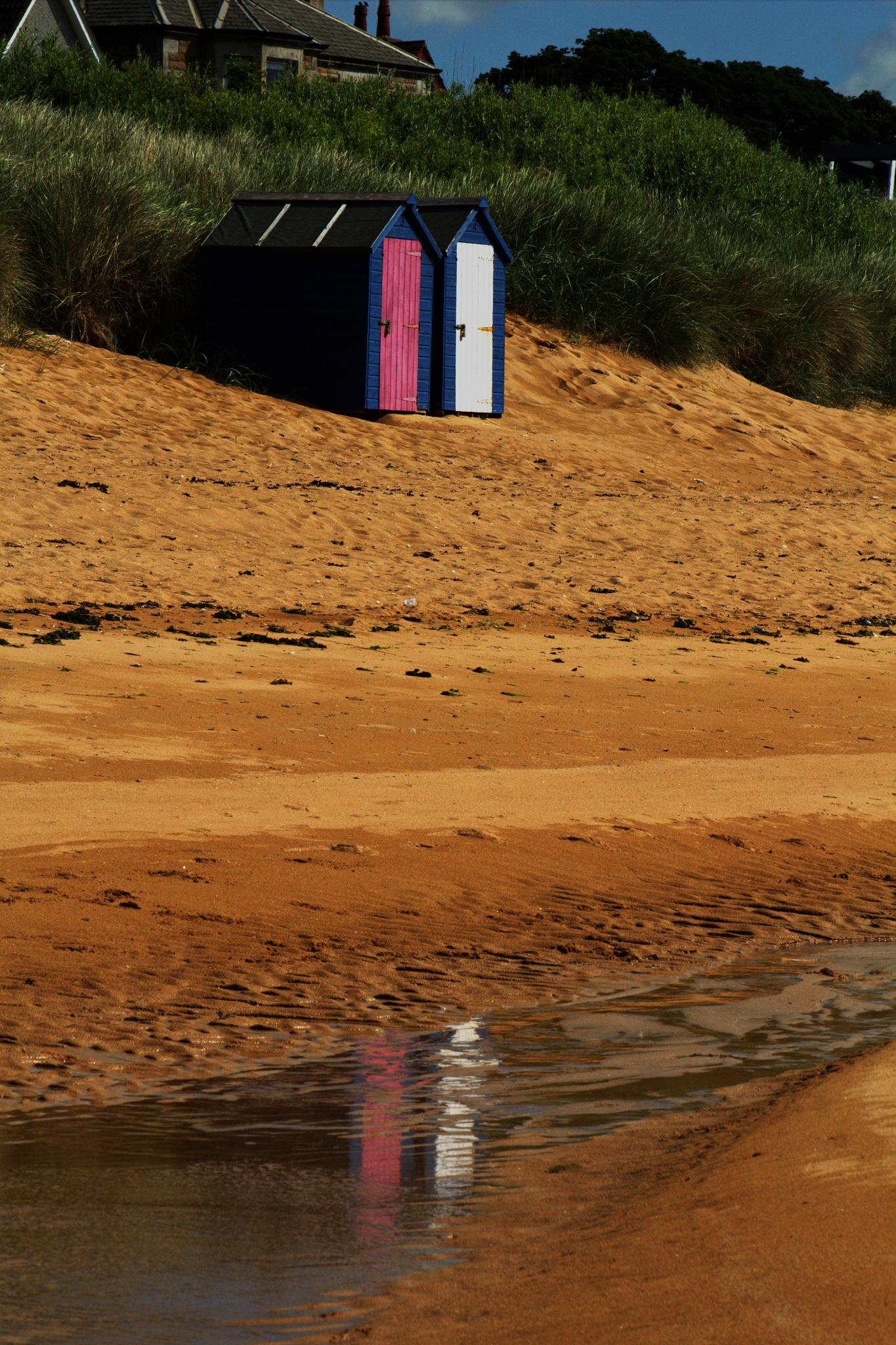 Beach Huts by Rich66