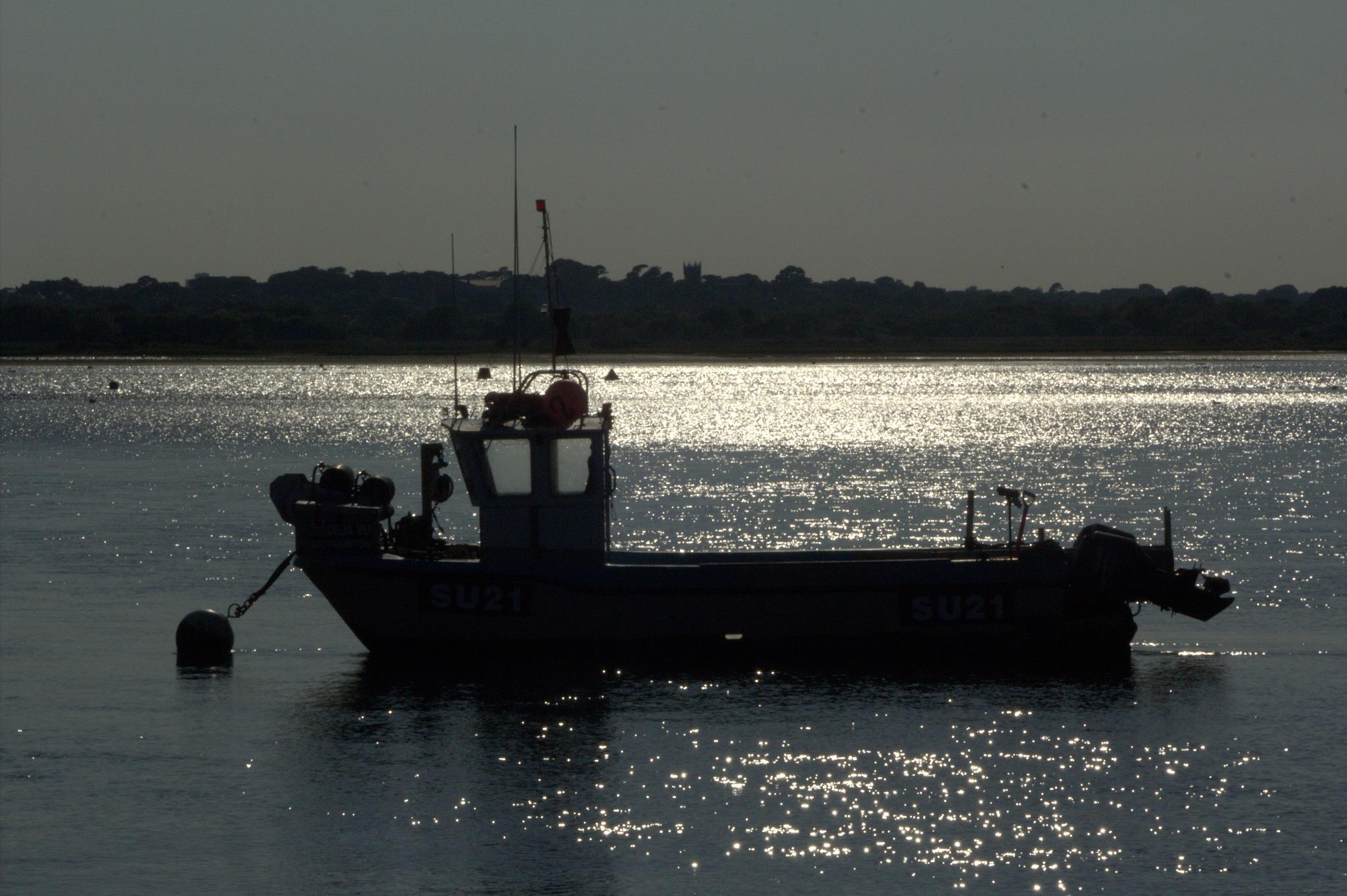 Harbour last light by Rich66