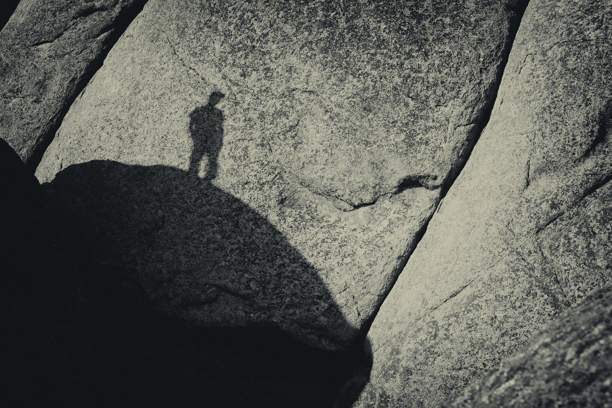 The shadow man by AMeshkov