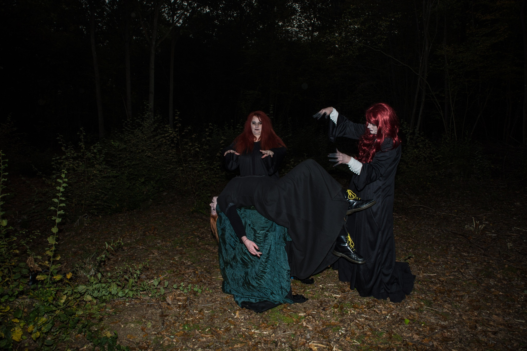 The Coven by Photographer Gino Cinganelli