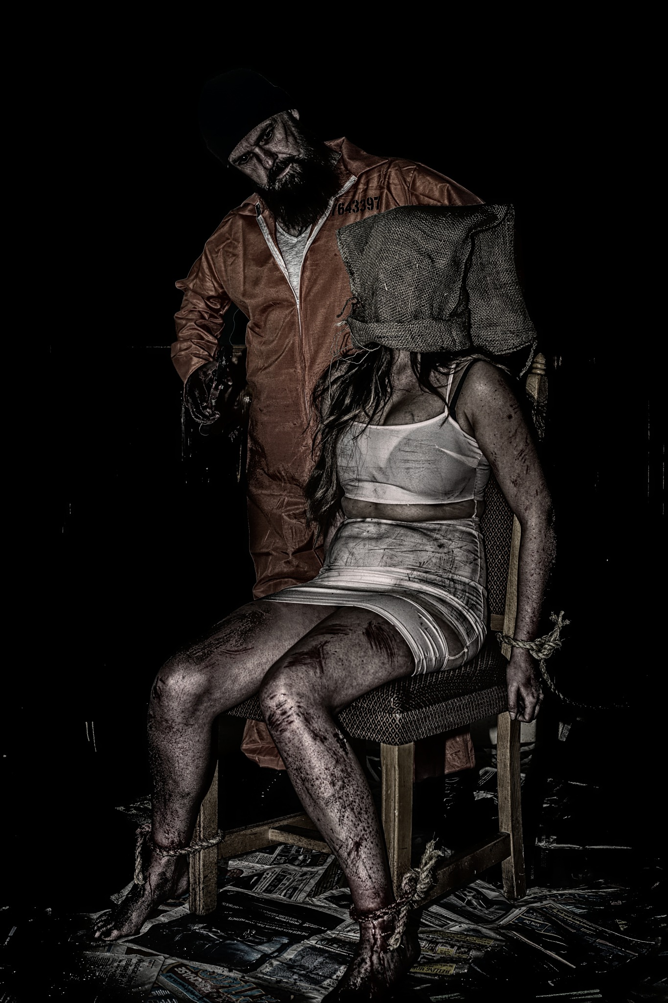 Hostile. by Photographer Gino Cinganelli