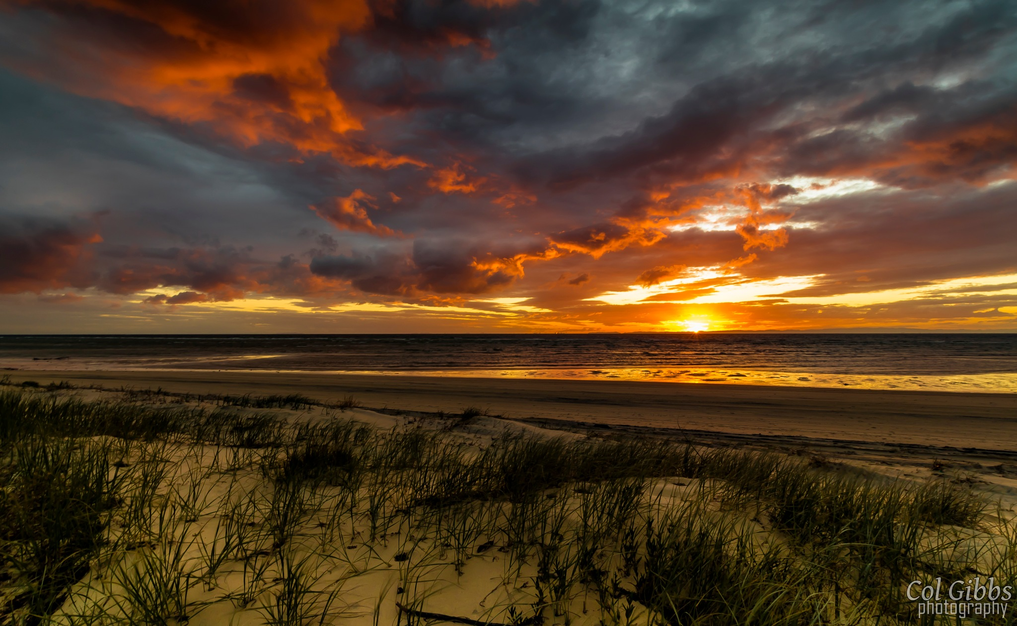 Closing storm by Col Gibbs Photography