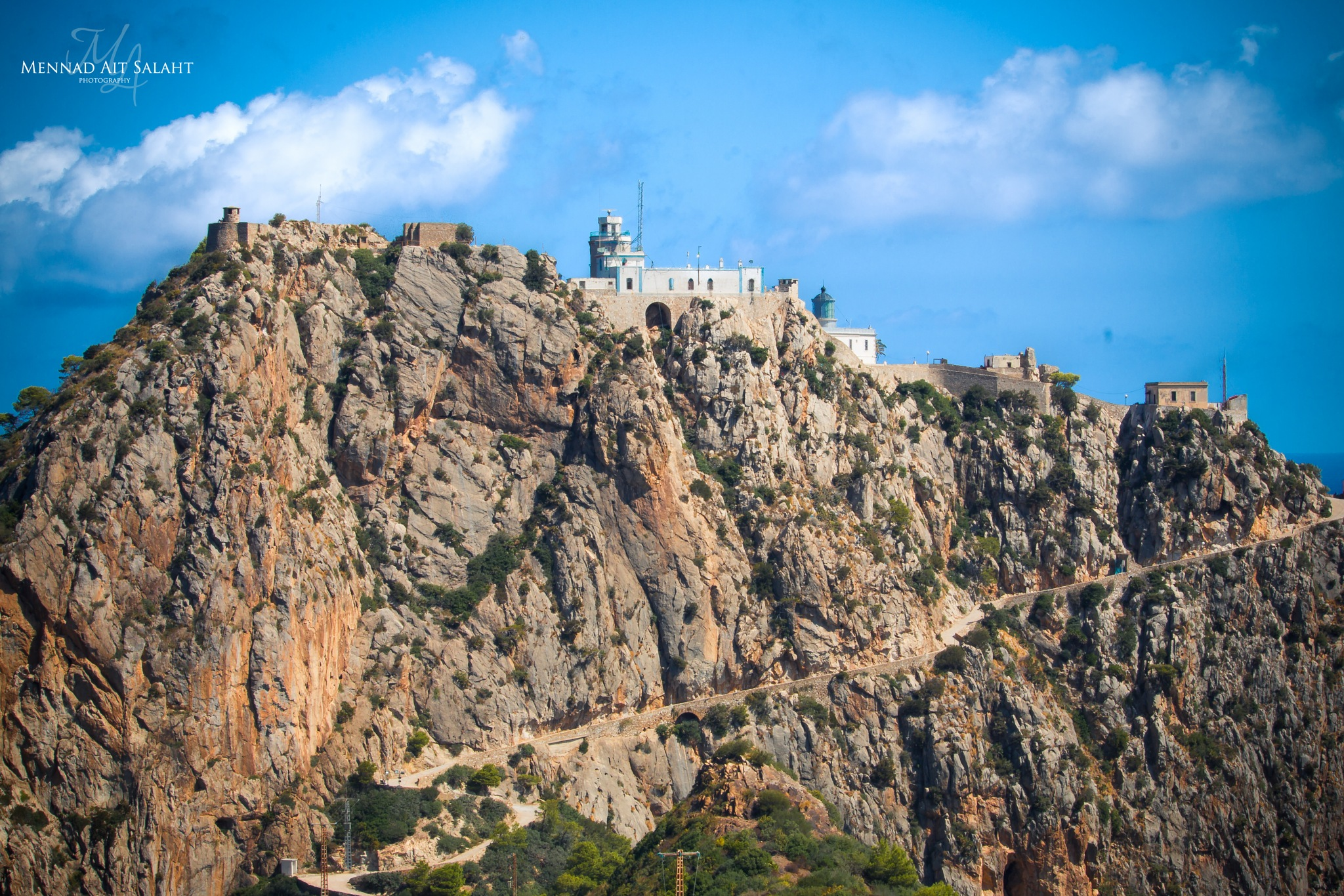 The Highest Natural Lighthouse in the World (242m), Cap Carbon, Bejaia (Algeria) by Mennad AIT SALAHT