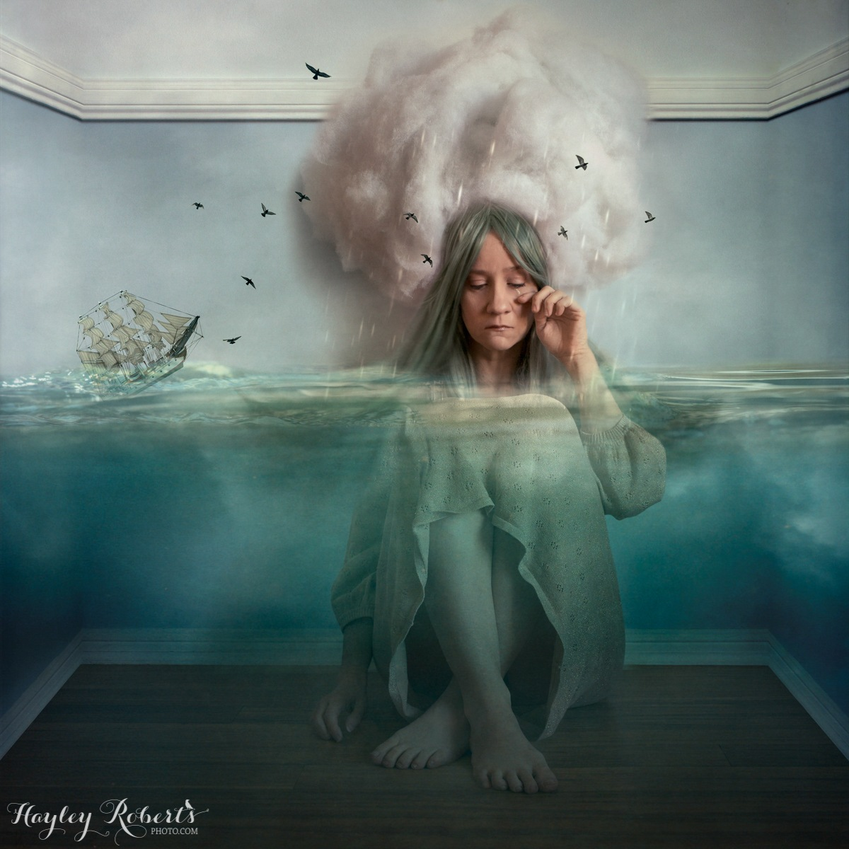 The Blue Girl by Hayley Roberts