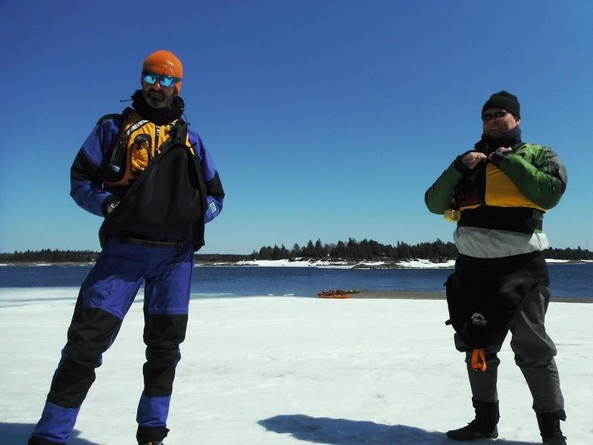 Walking on ice by Jasmin Tremblay