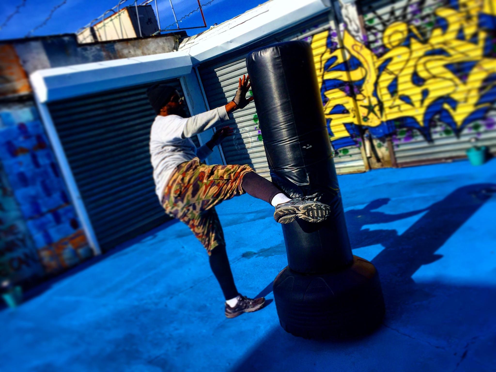 Karate Blue by Saiku-DropSquad Akinlawon