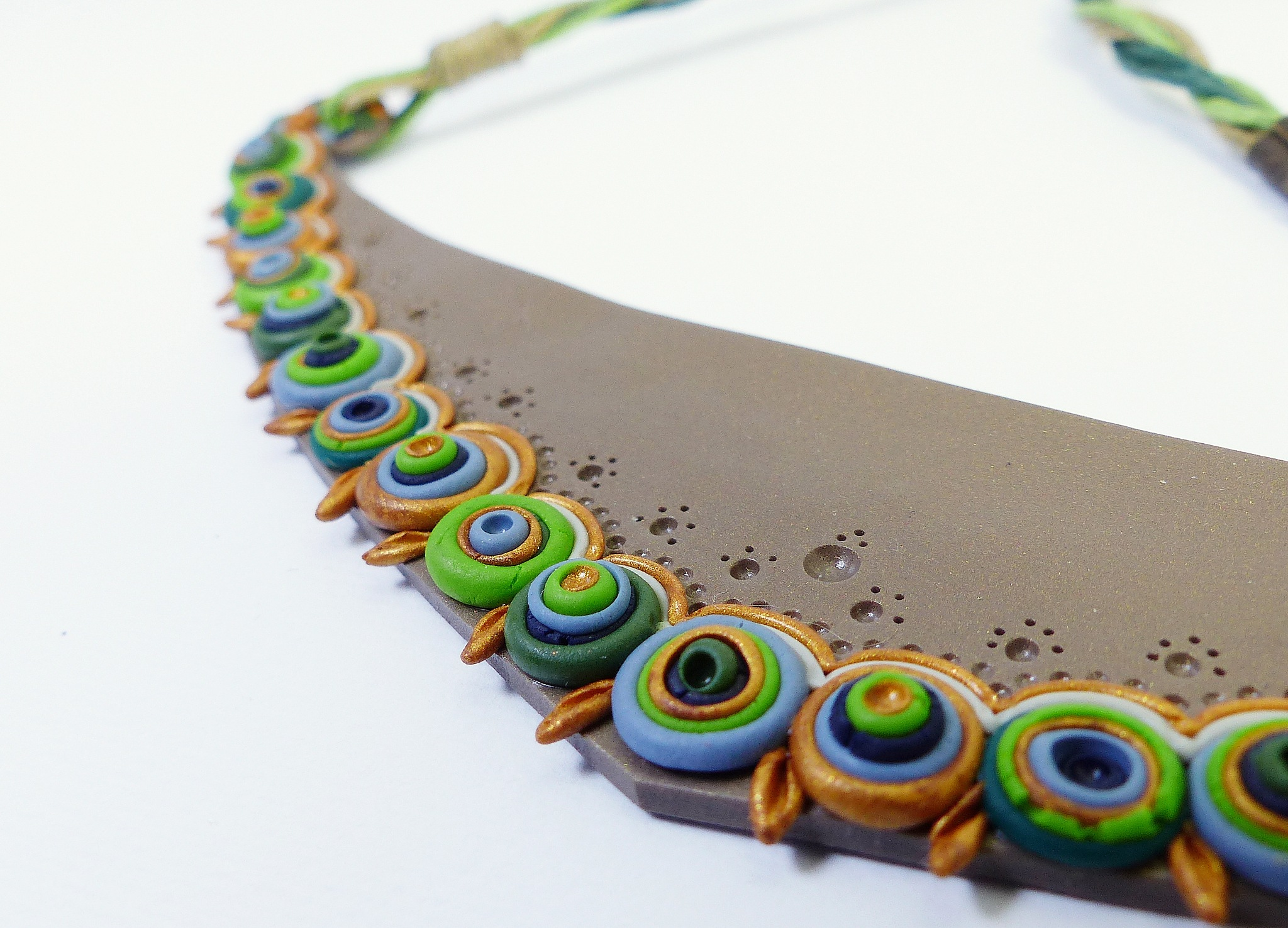 Earth Necklace by milalamares