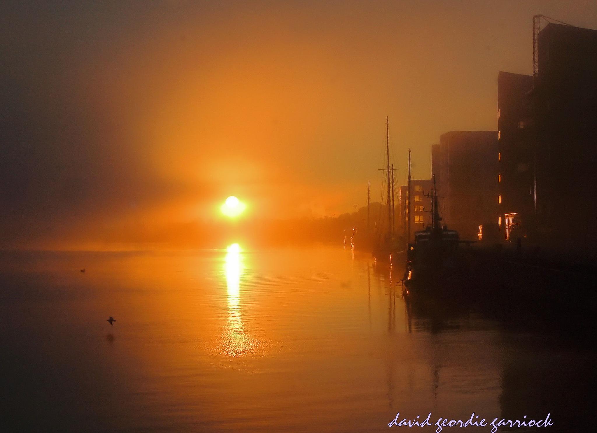 waterfront morning by davidgeordiegarriock