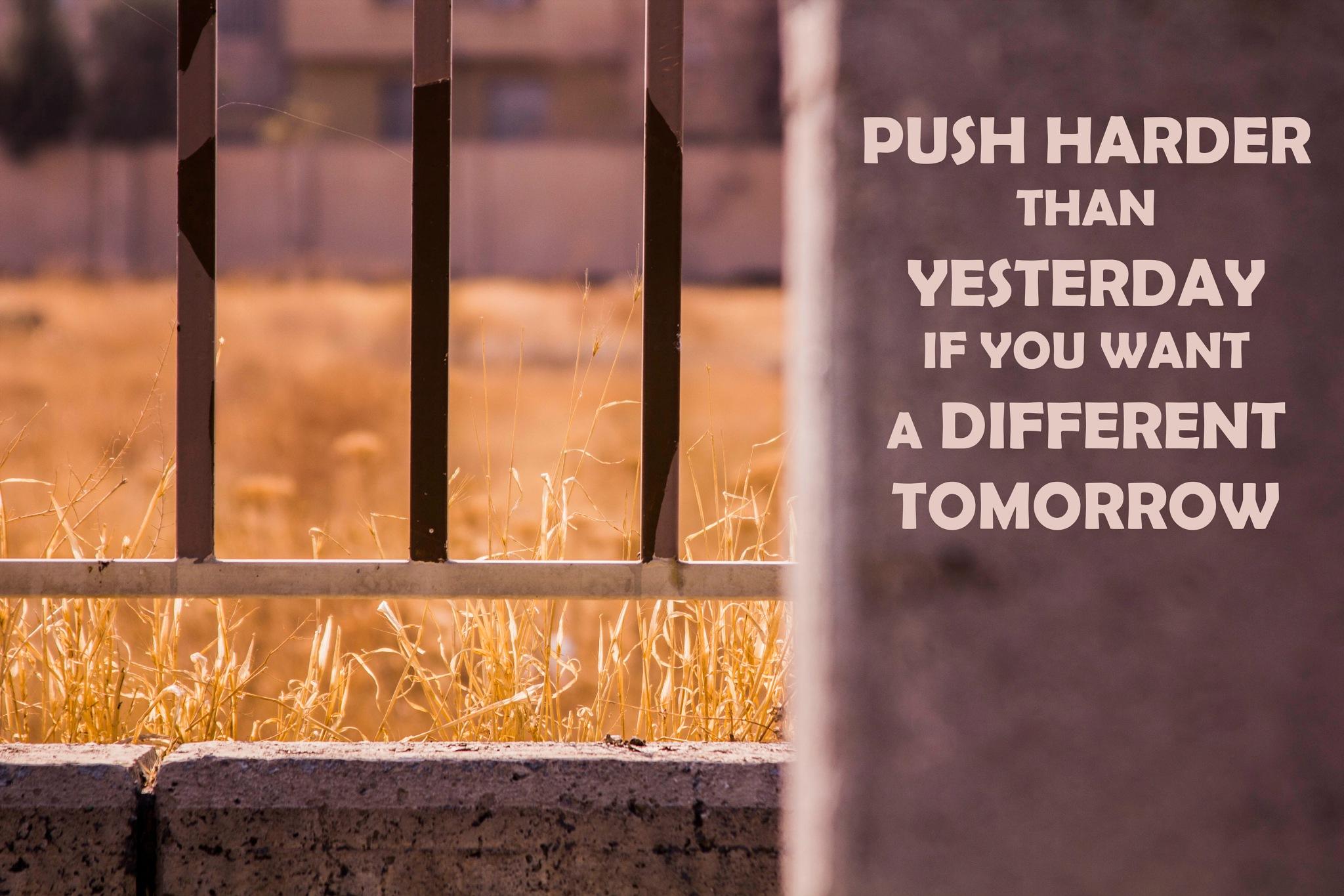 PUSH Harder by Amir Seyedi