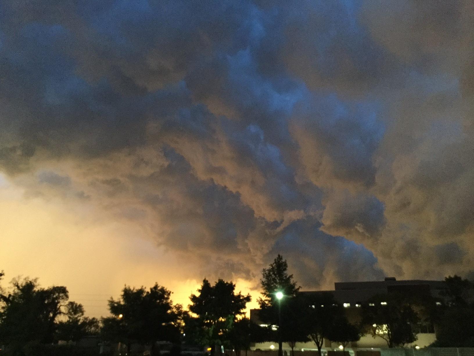 Kansas thunderstorm by Todd Smith