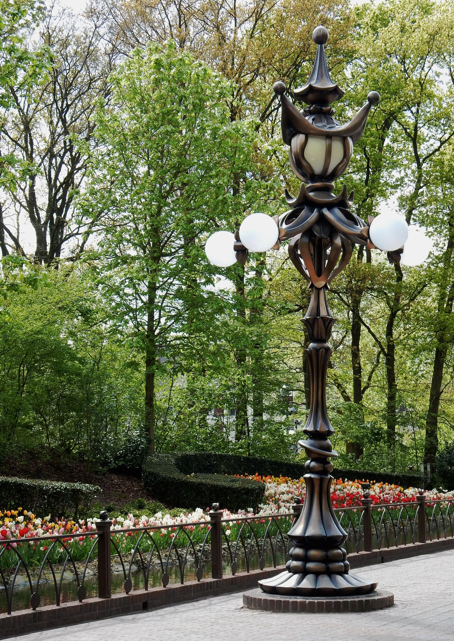 """Street Light in Fairytale Park """"De Efteling"""" in Kaatsheuvel by HaWaFoTo"""
