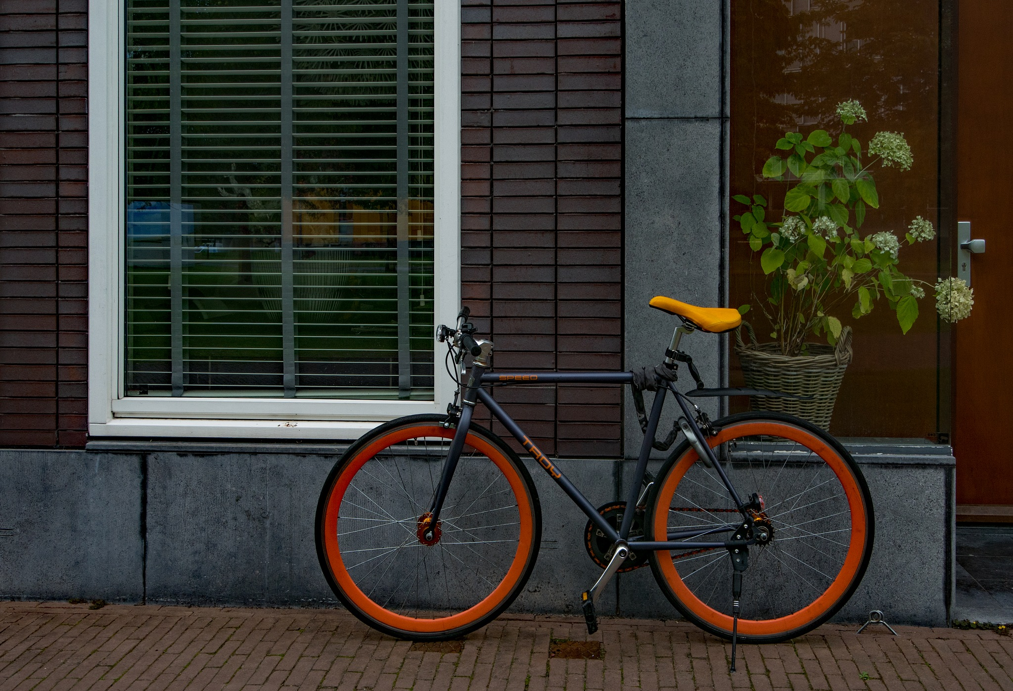 Bike with badly adjusted saddle by HaWaFoTo