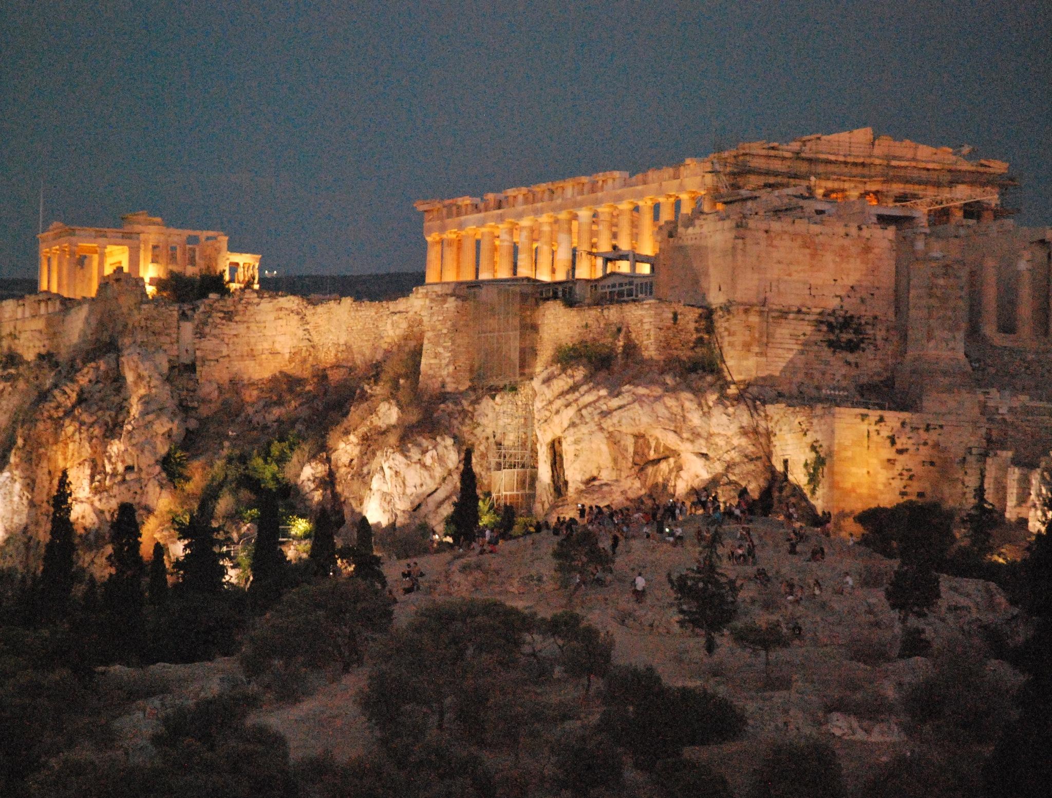 acropolis  by Jim zafiris