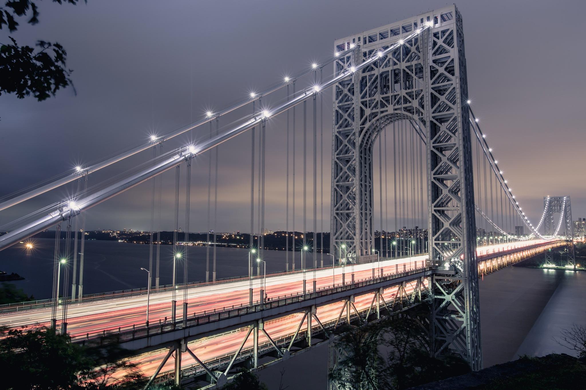George Washington Bridge by dallaschristo