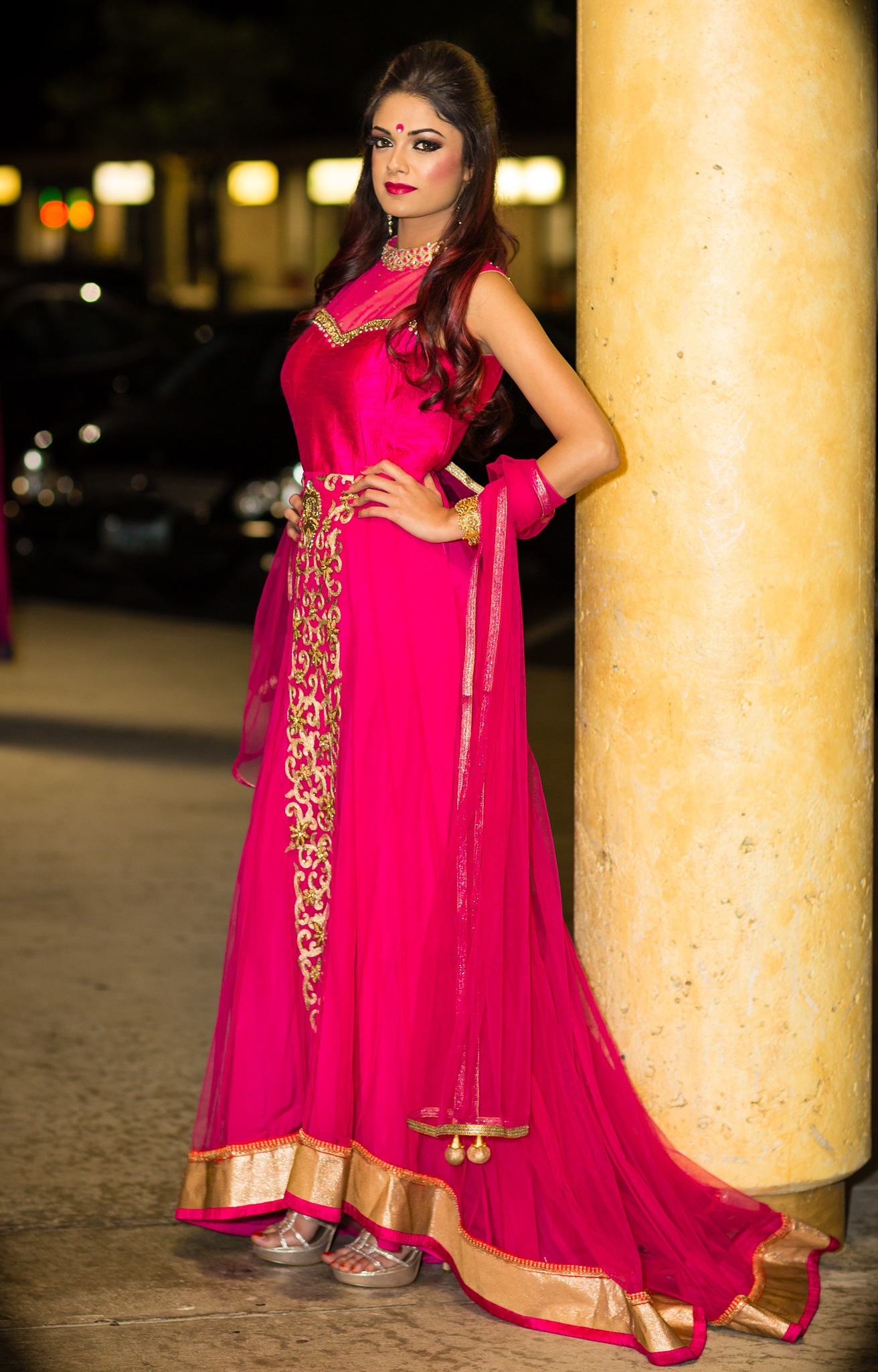 Pretty In Pink by Vik Kumar