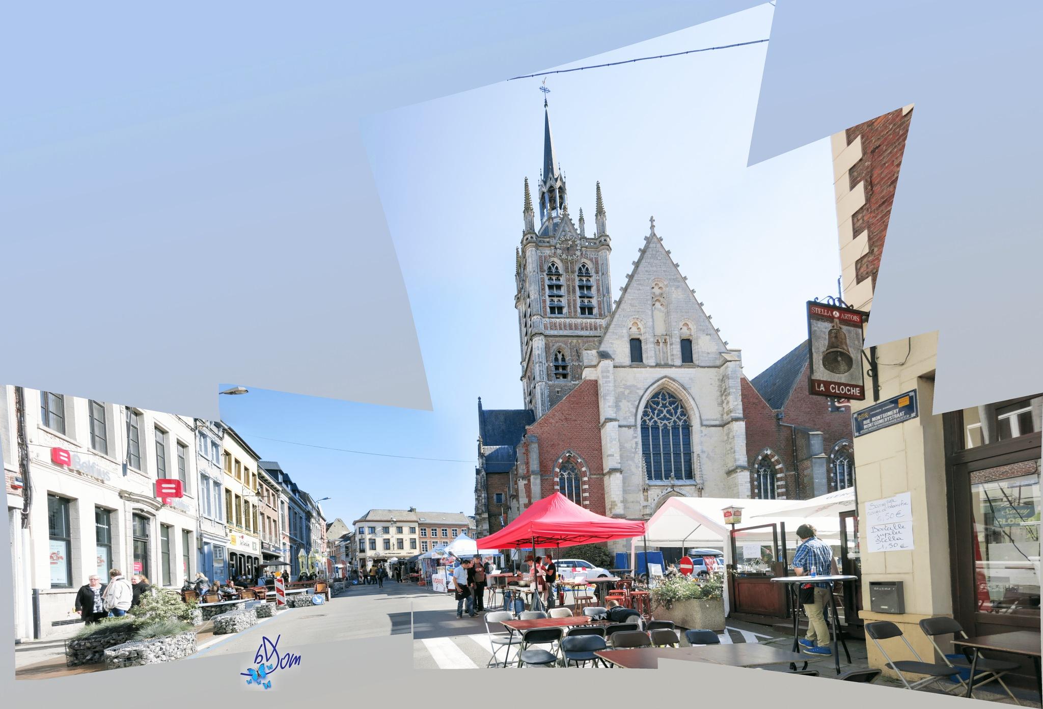 Place d'Enghien by dominiquebruyneel