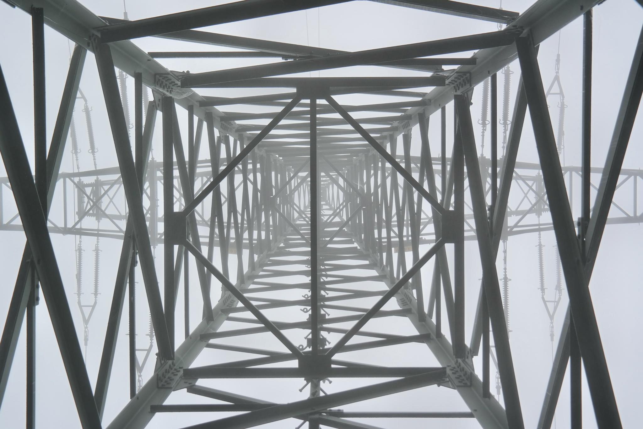 Turm im Nebel by Hotel Buchenhain Photography