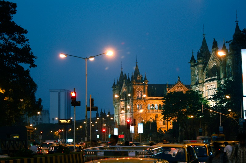 Mumbai Lights by Mithun V Menon