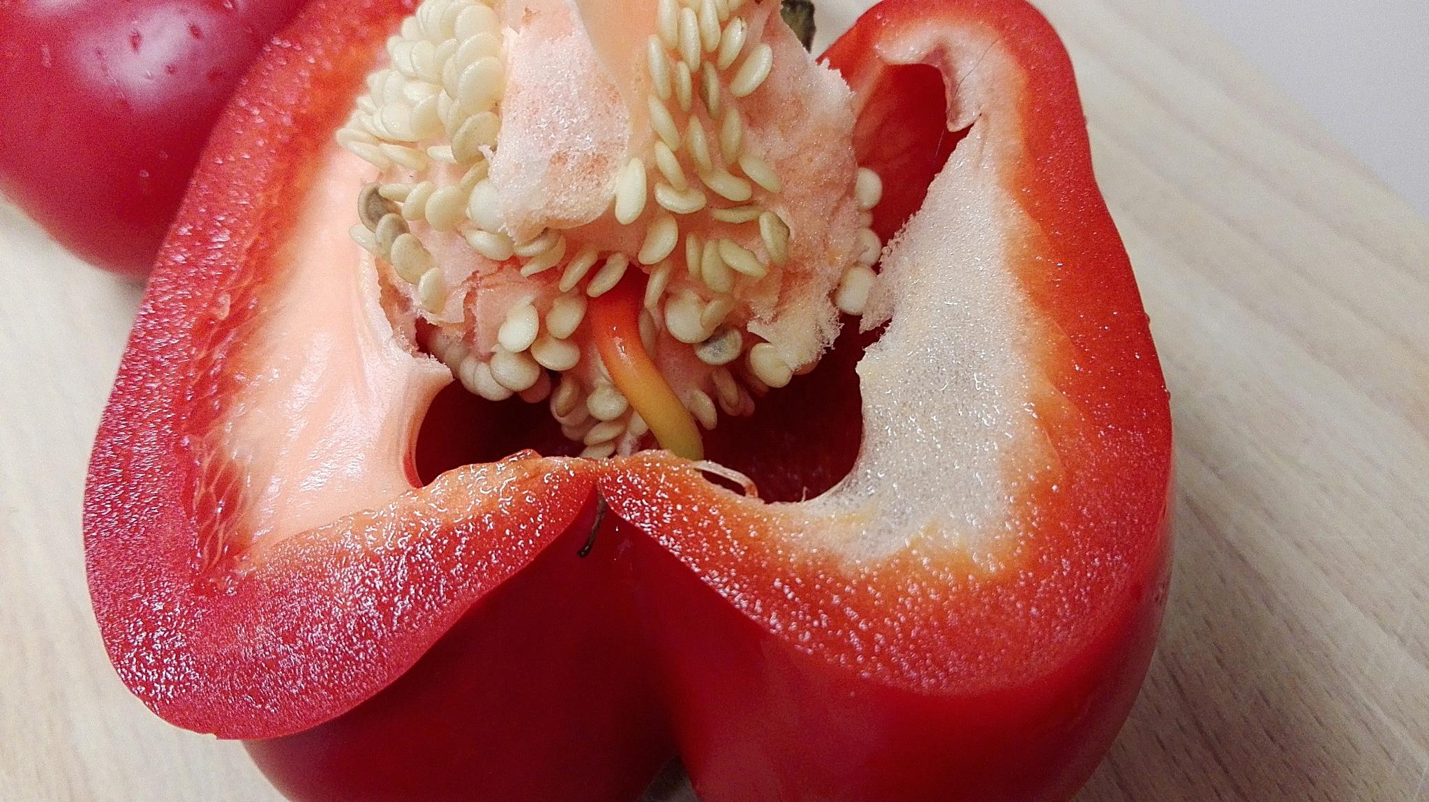 studium papryki II     study peppers II by B Tessa Marcinkowska